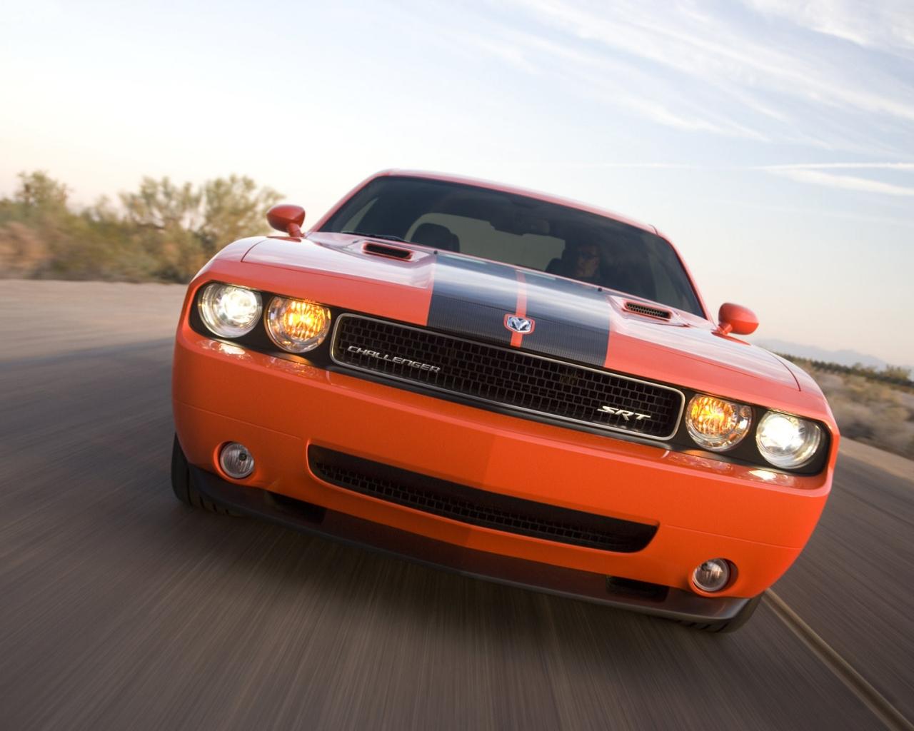 Dodge Challenger SRT 8 hd 1280x1024   imagenes   wallpapers gratis 1280x1024