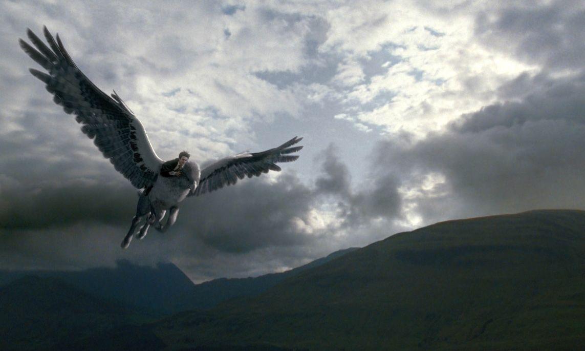 Harry Potter and the Prisoner of Azkaban Buckbeak and Harry 1143x685
