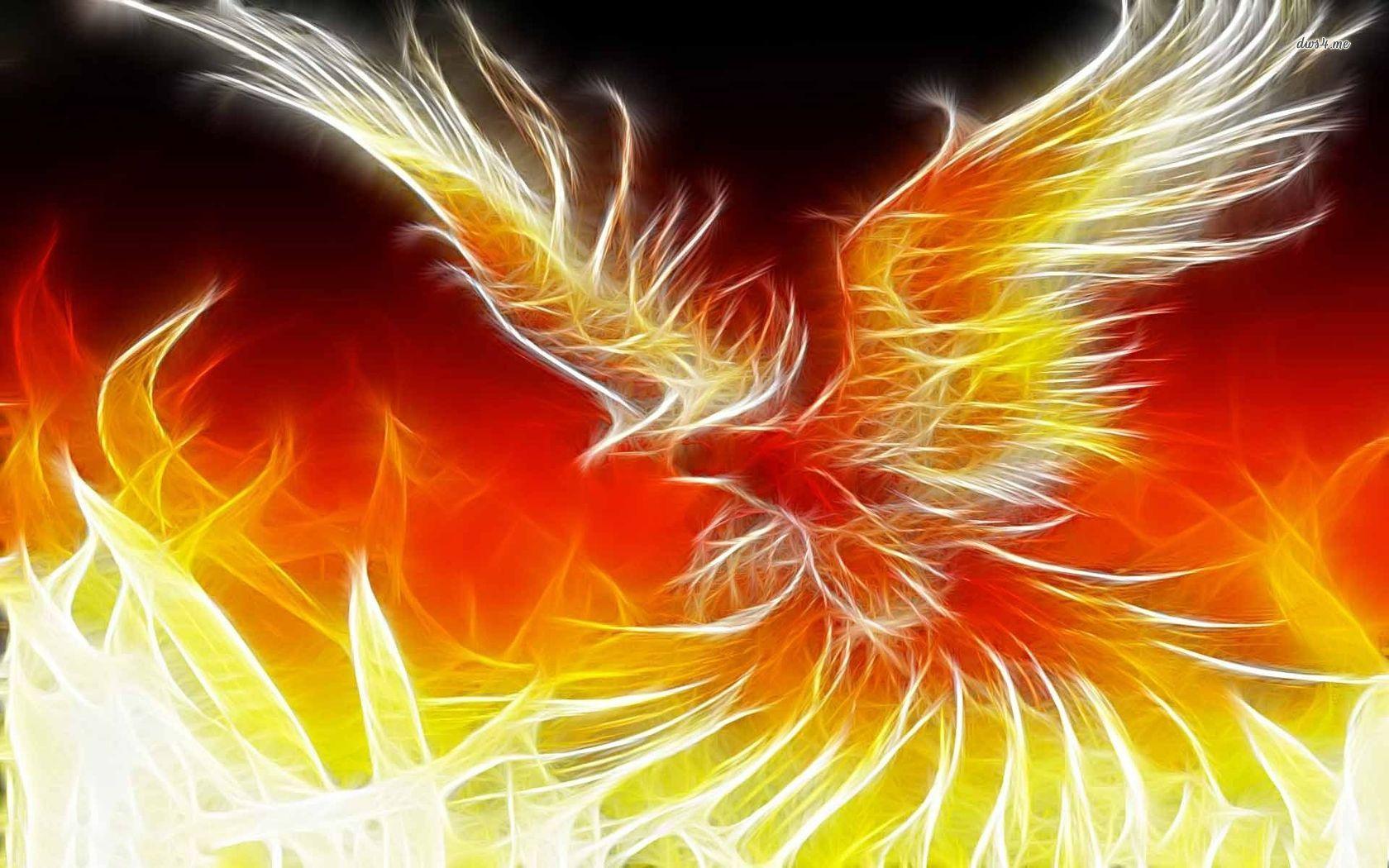 Phoenix Bird 39 Desktop Background 1680x1050