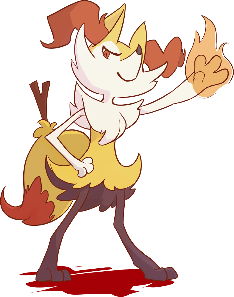 Braixen by XyraFhoan 792x1005