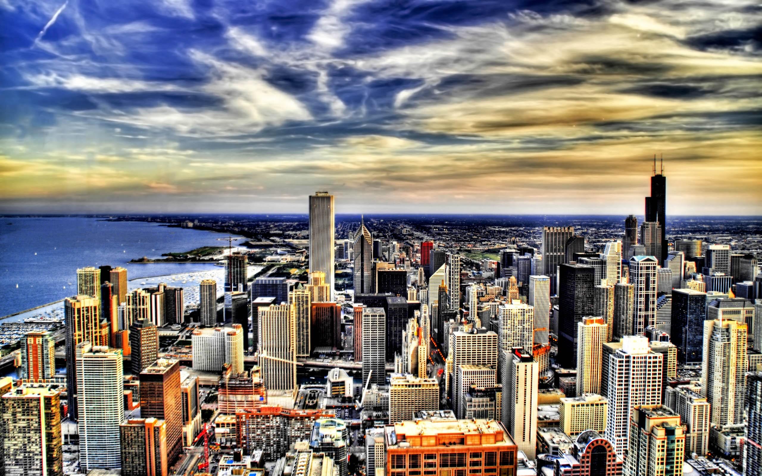 Chicago Illinois by Trey Ratcliff   Desktop Wallpaper 2560x1600