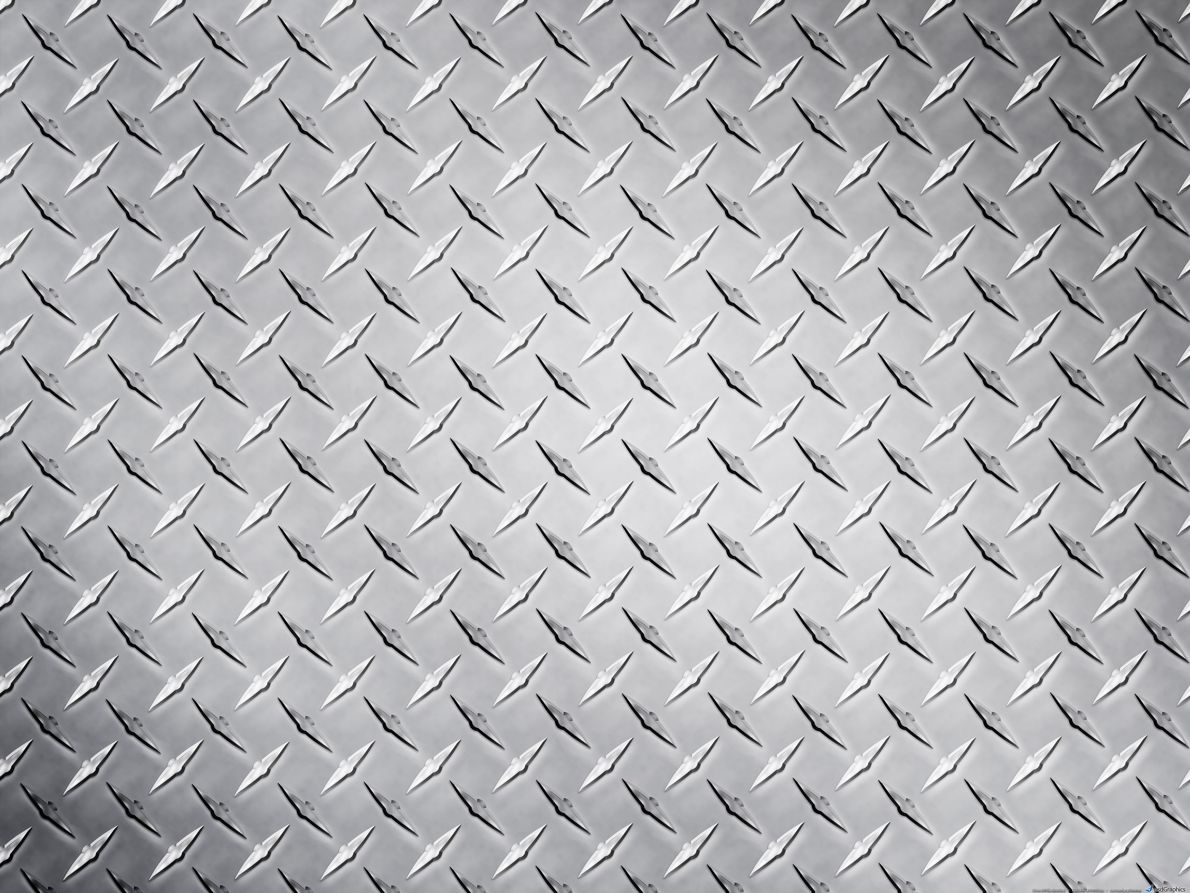 Metal diamond plate texture PSDGraphics 4000x3000