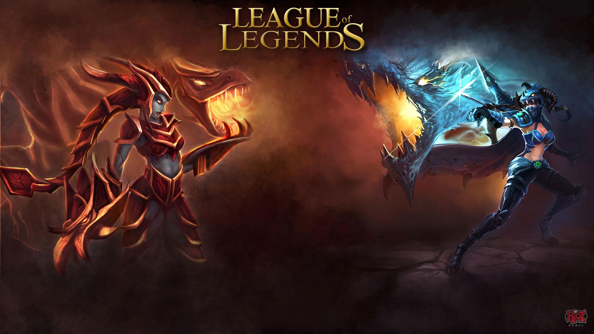 League Of Legends Shyvana wallpaper 257487 1920x1080