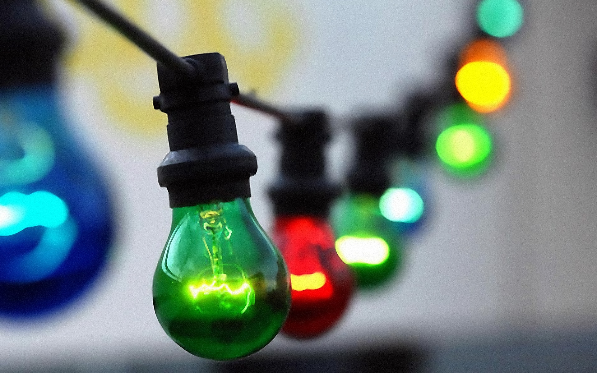 Luces de colores fondos de pantalla Luces de colores fotos gratis 1920x1200