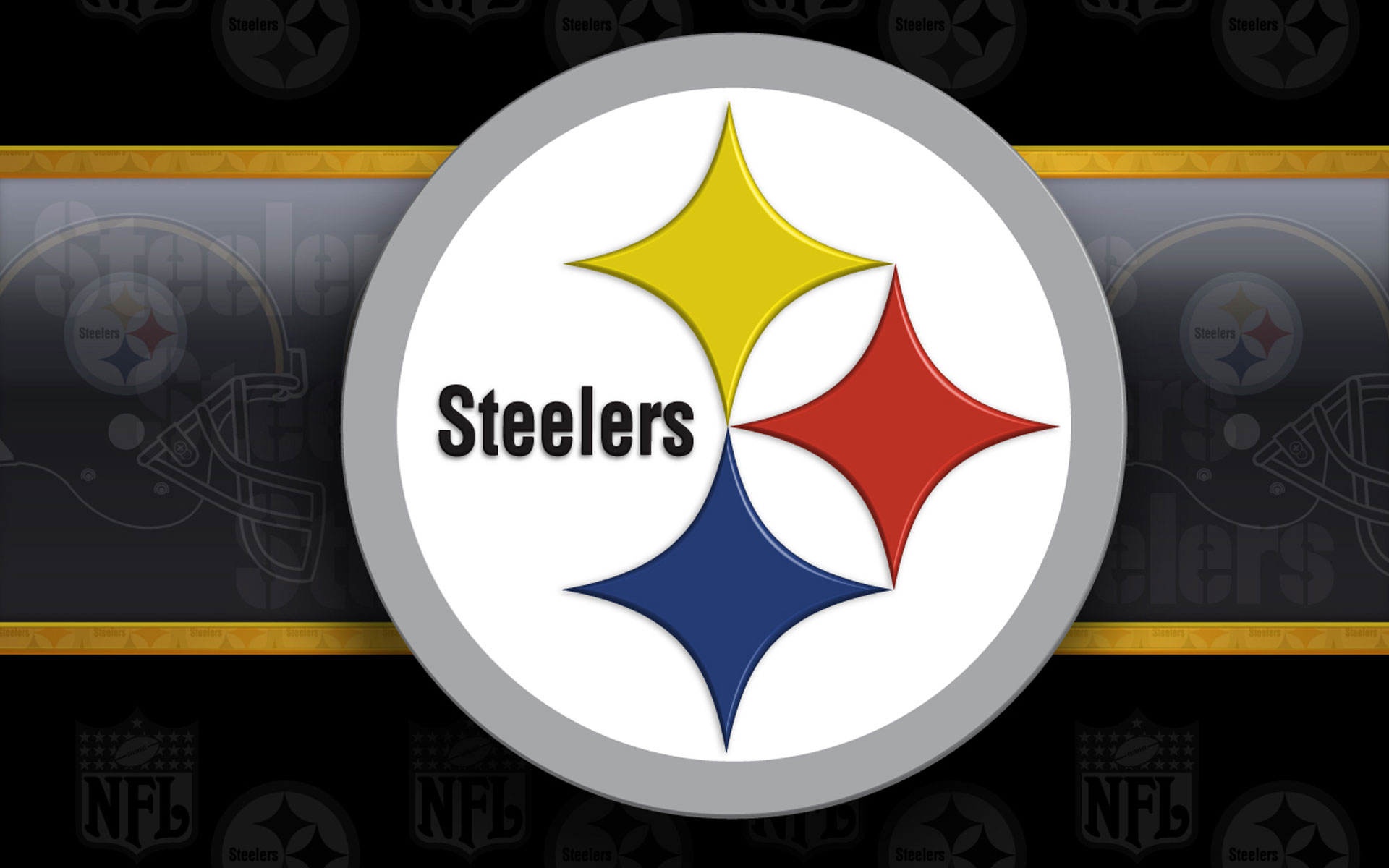 photograph about Printable Steelers Logo referred to as 43+] Pittsburgh Steelers Brand Wallpaper upon WallpaperSafari