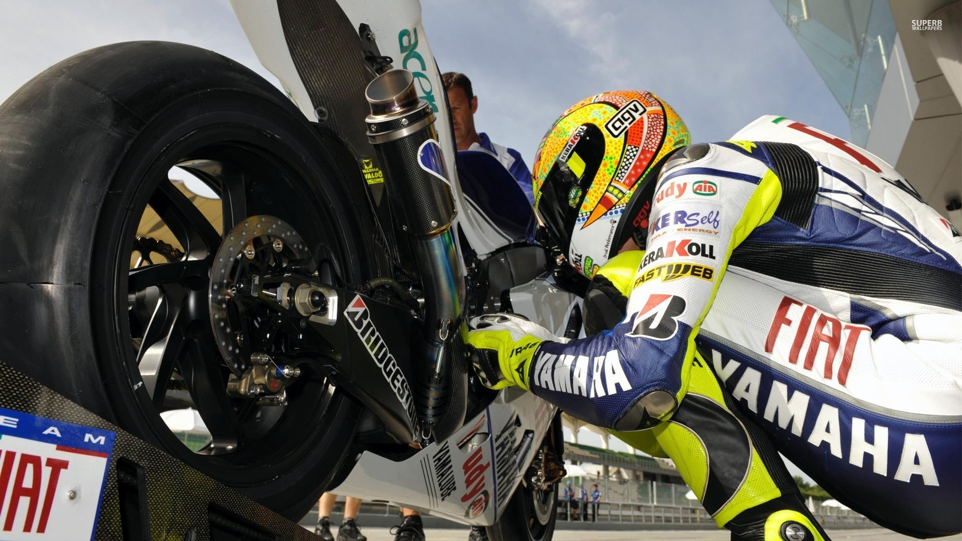 Valentino Rossi Motorcycle wallpapers Wide Screen Wallpaper 1080p2K 1920x1080