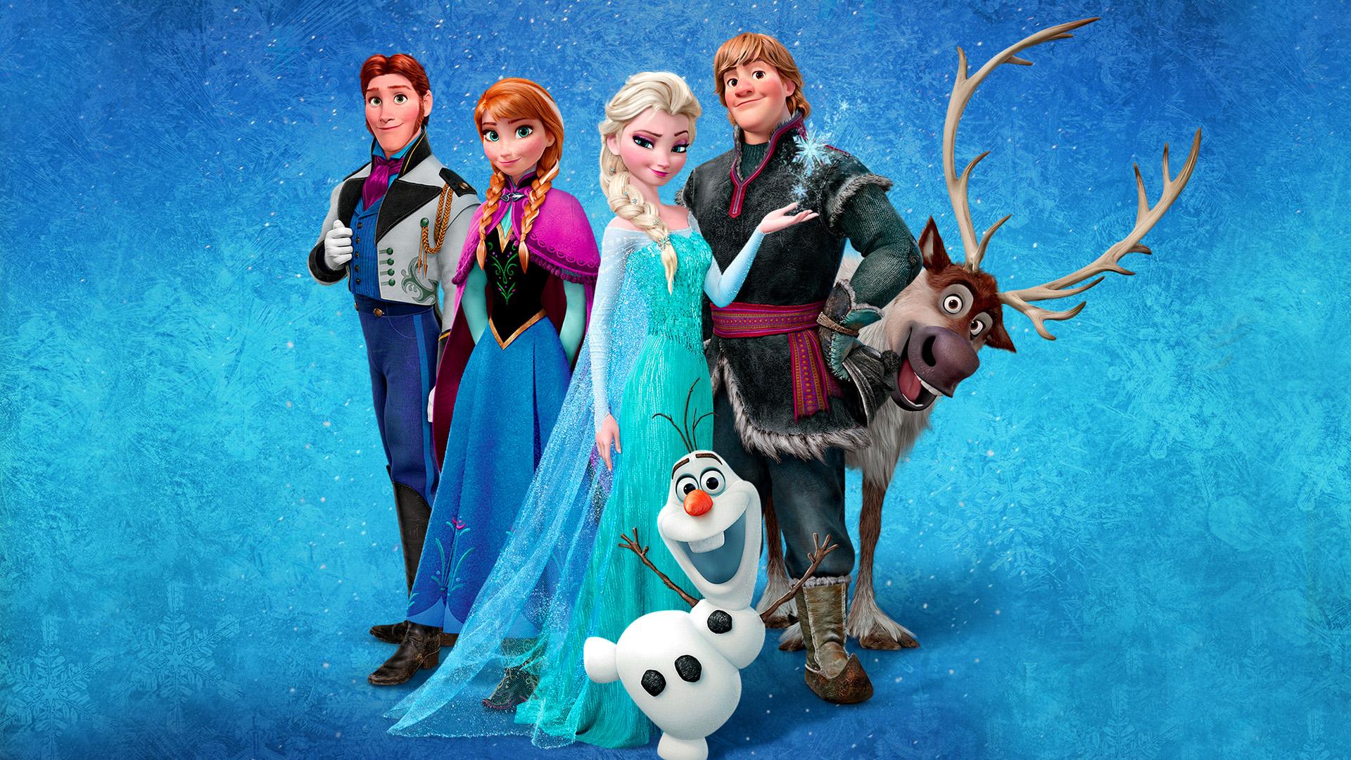 frozen Animated Movie Choice Wallpaper 1920x1080
