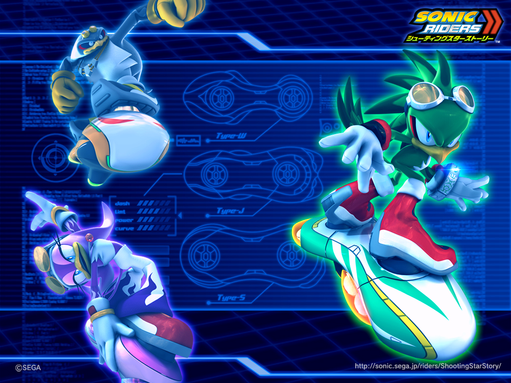 Sonic Riders Zero Gravity wallpapers Video Game HQ Sonic Riders 1024x768