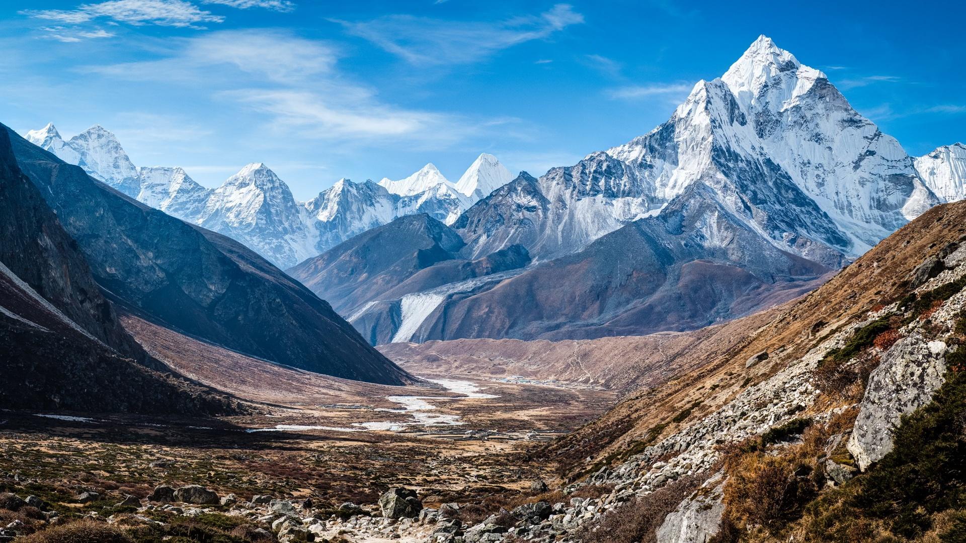Pin Himalayan Mountains K2 1920x1080