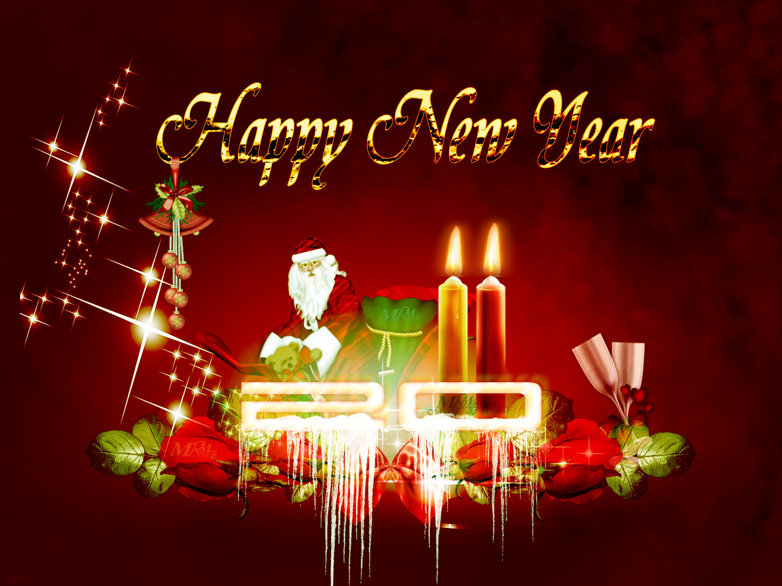 and wallpapers 2011 new year screensavers wallpapers 2011 new year 1600x1200