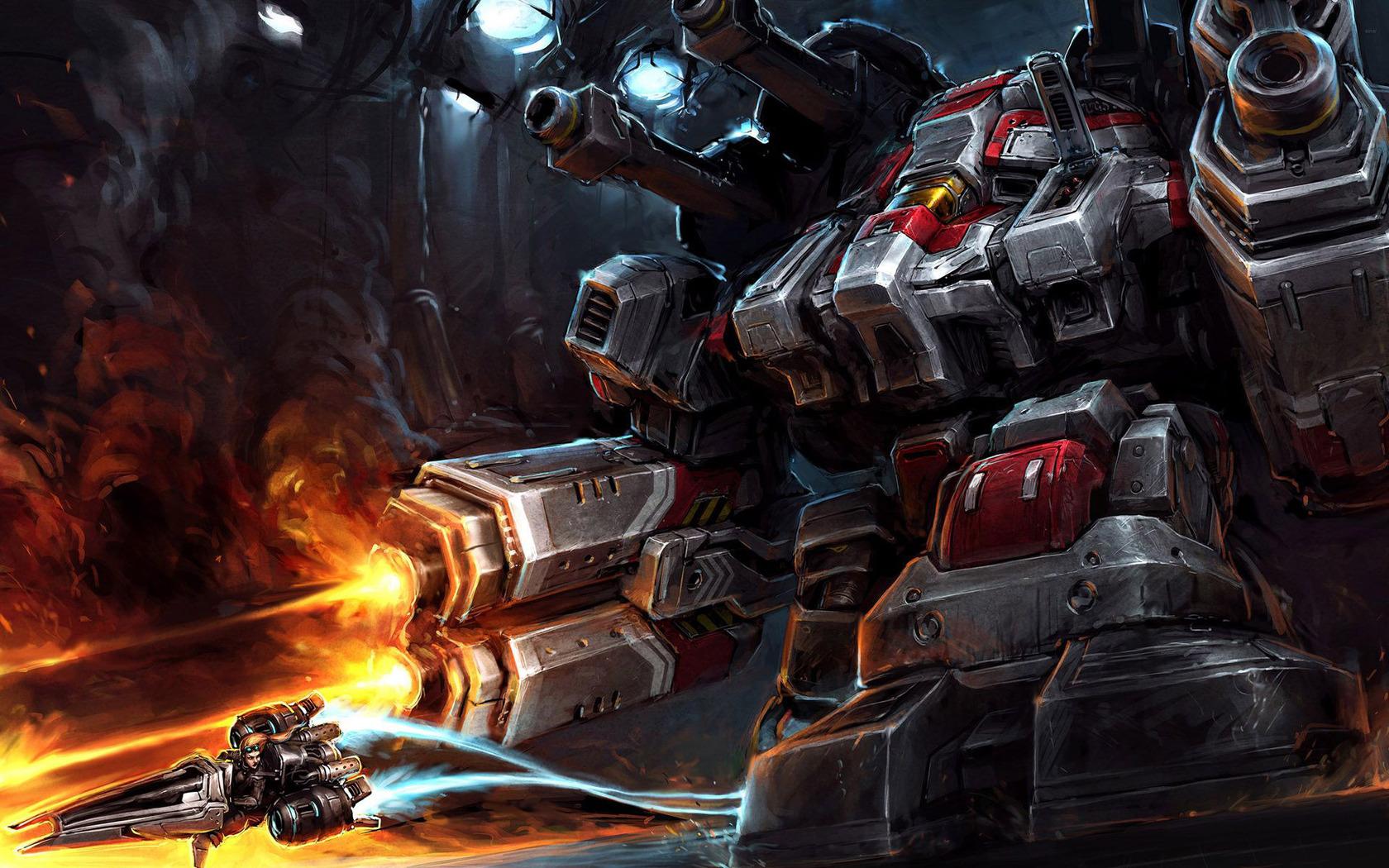 Thor   StarCraft II wallpaper 13947 1680x1050