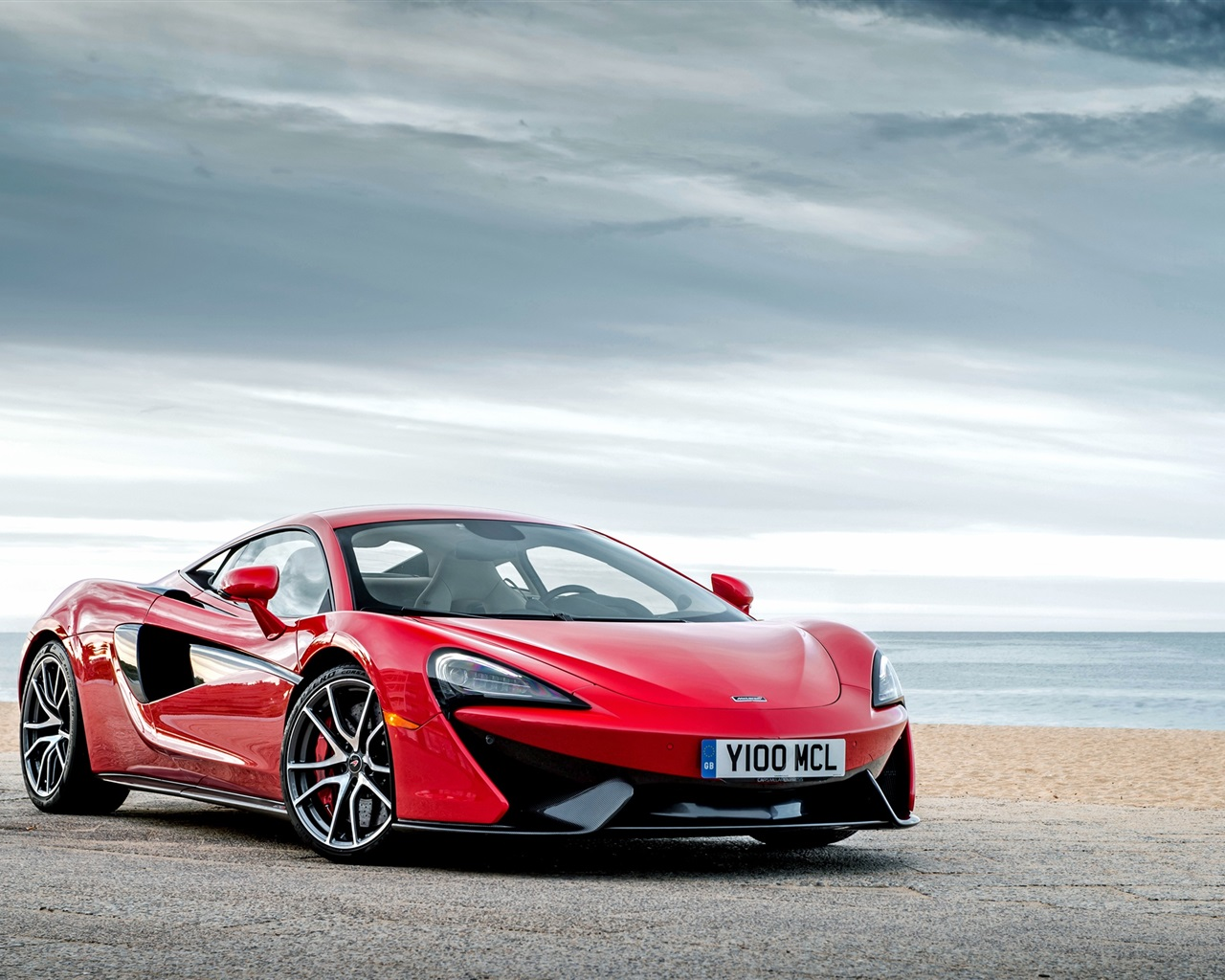 McLaren 570S red supercar Wallpaper 1280x1024 resolution wallpaper 1280x1024