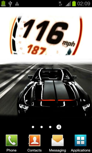 Knight Rider 2008 LWP 307x512