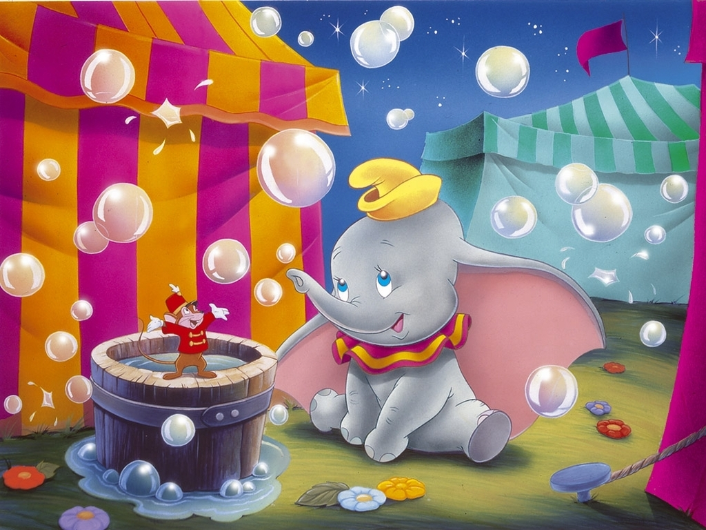 Dumbo Wallpaper   Classic Disney Wallpaper 7344835 1024x768