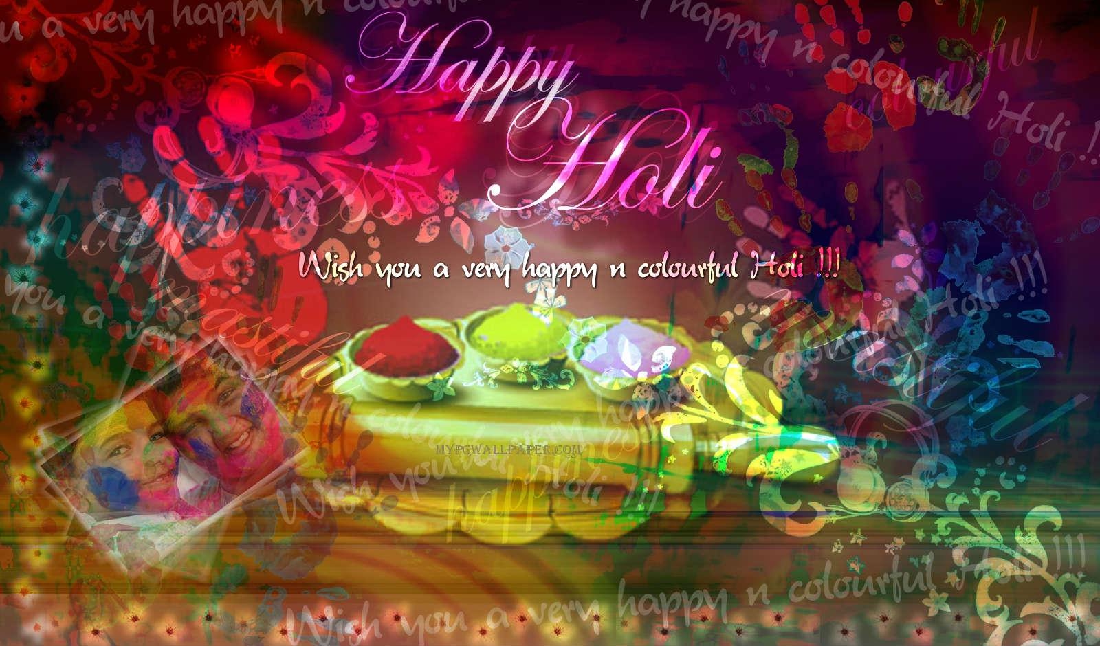 Happy Holi Wallpaper Happy Holi Wallpaper 1600x940