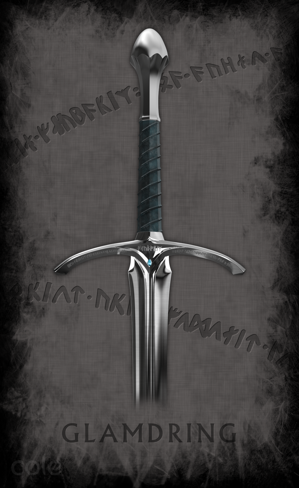 Glamdring Weapons of Middle Earth 1220x1994