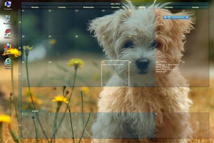 Desktop Calendars multimedia gallery 700x469