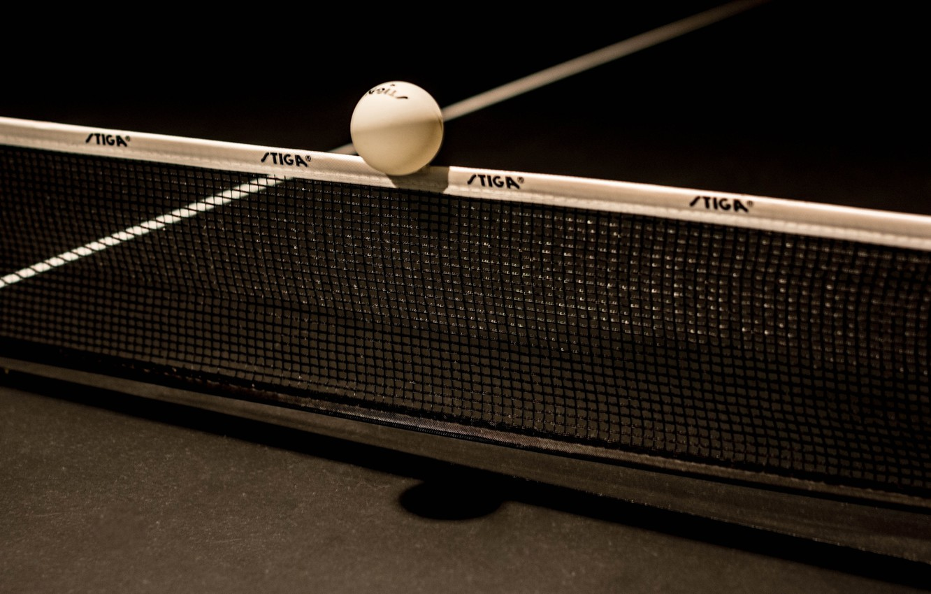 Wallpaper mesh the ball ping pong table tennis images for 1332x850