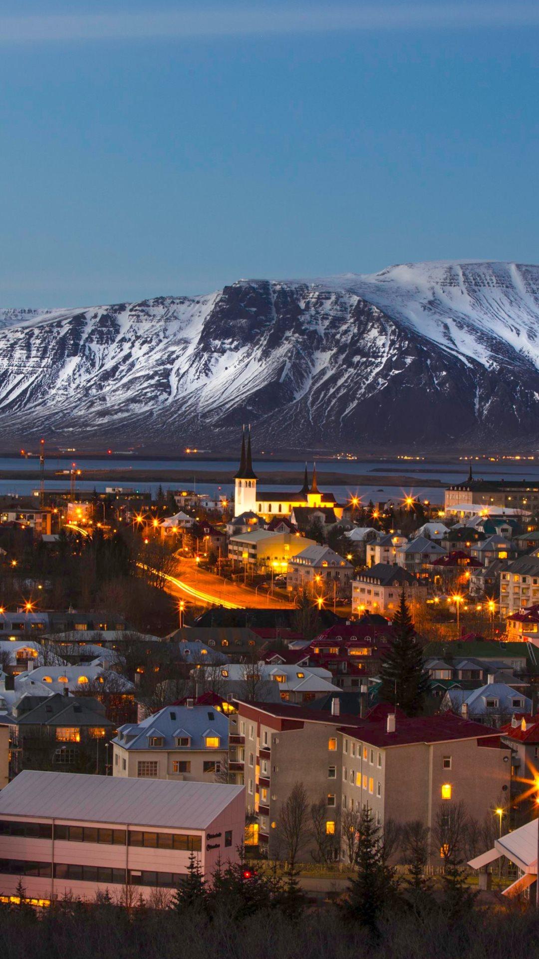 Reykjavik iceland wallpaper wallpapersafari - Iceland iphone wallpaper ...