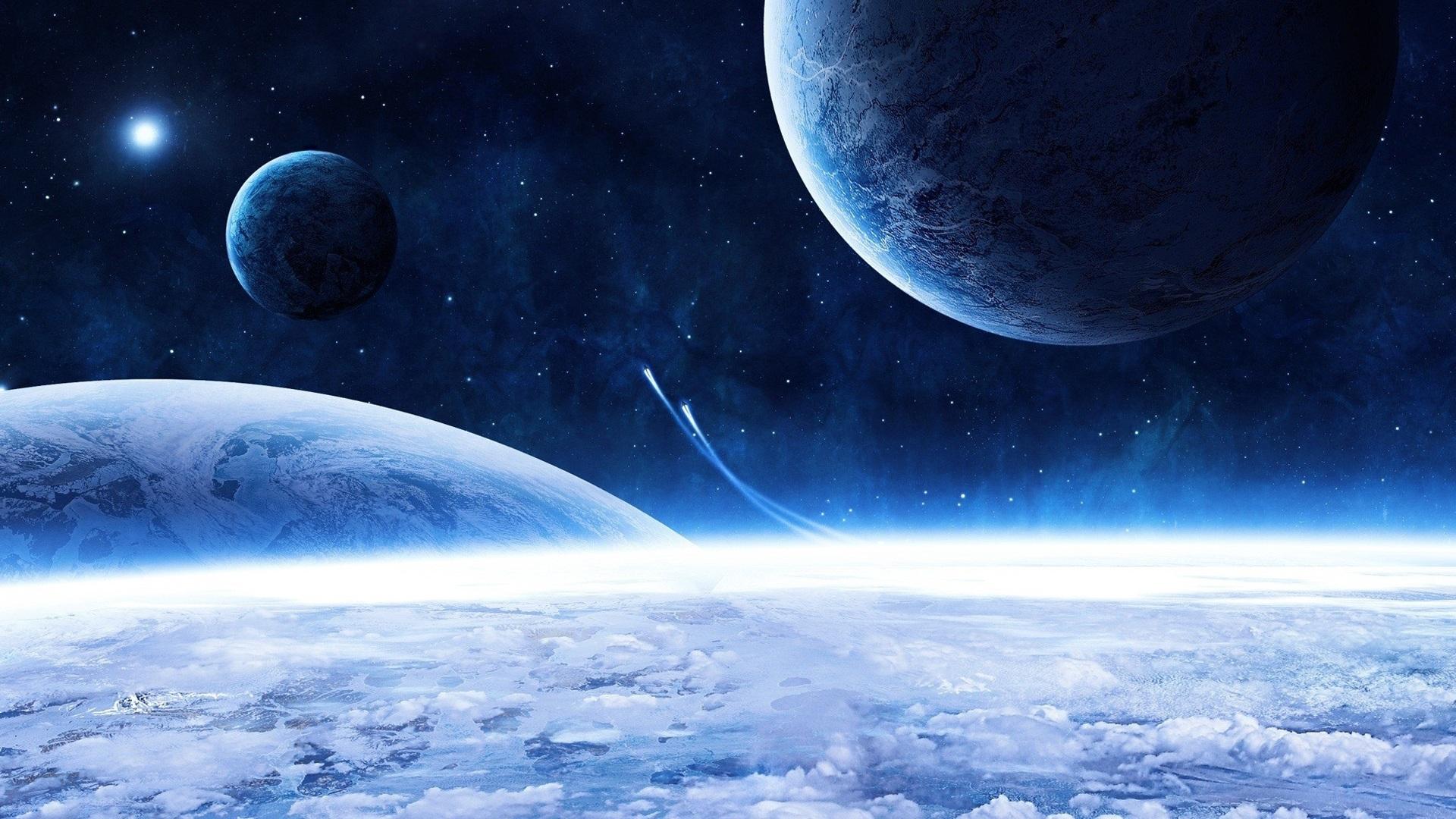 Обои космос планета корабль картинки на рабочий стол на тему Космос - скачать  № 3125428  скачать