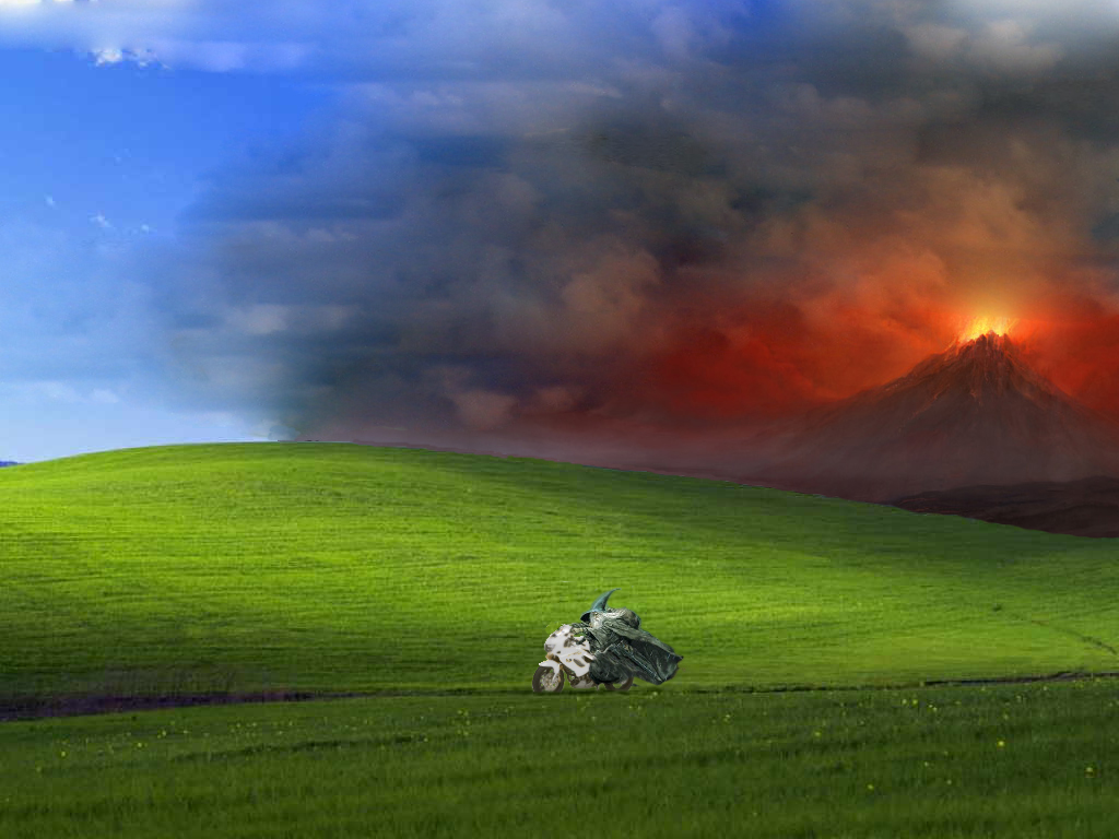 Gandalf Bliss Wallpaper 1024x768 Windows XP The