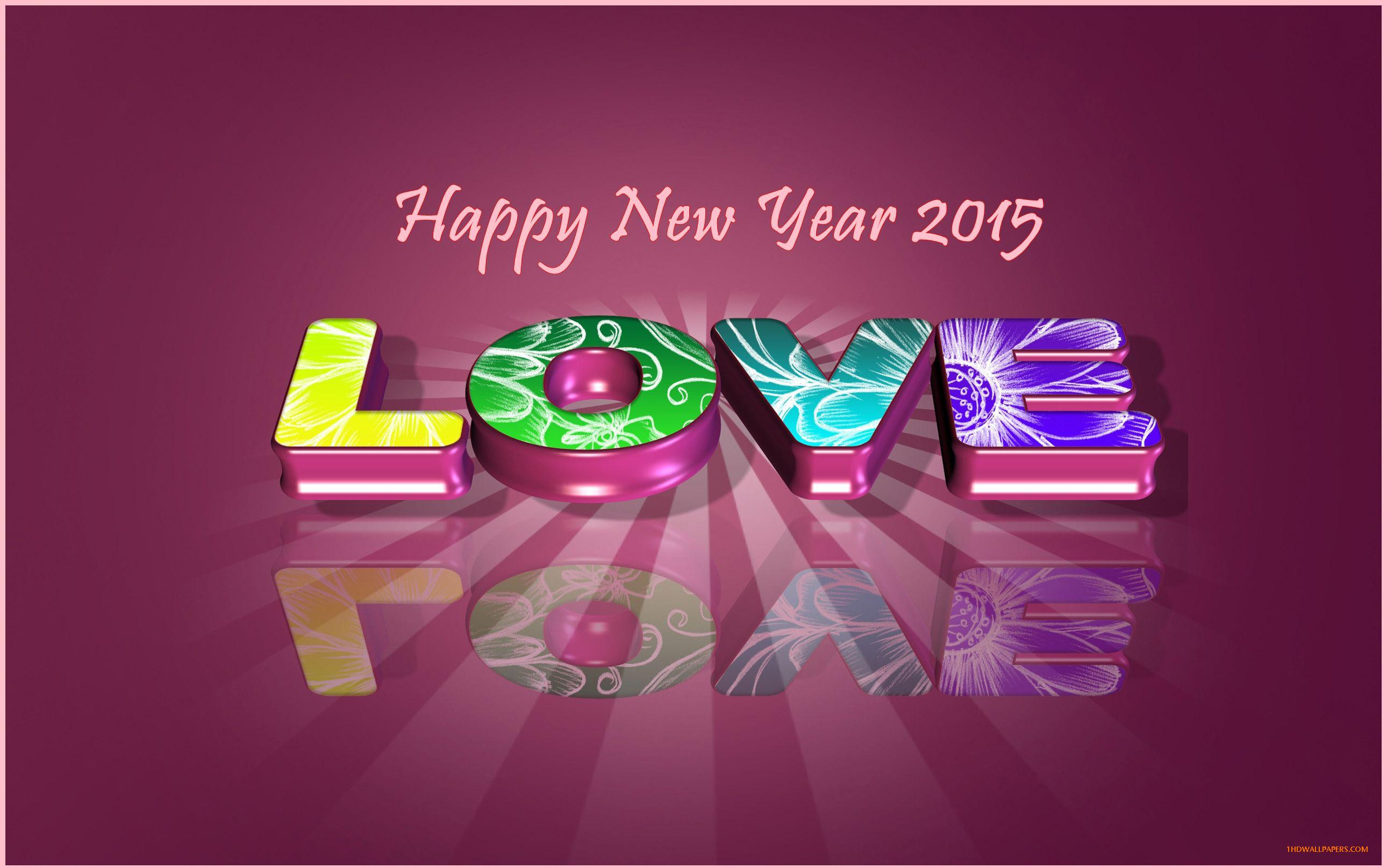 50 Happy New Year Wallpapers 2015 for Desktop 2580x1615