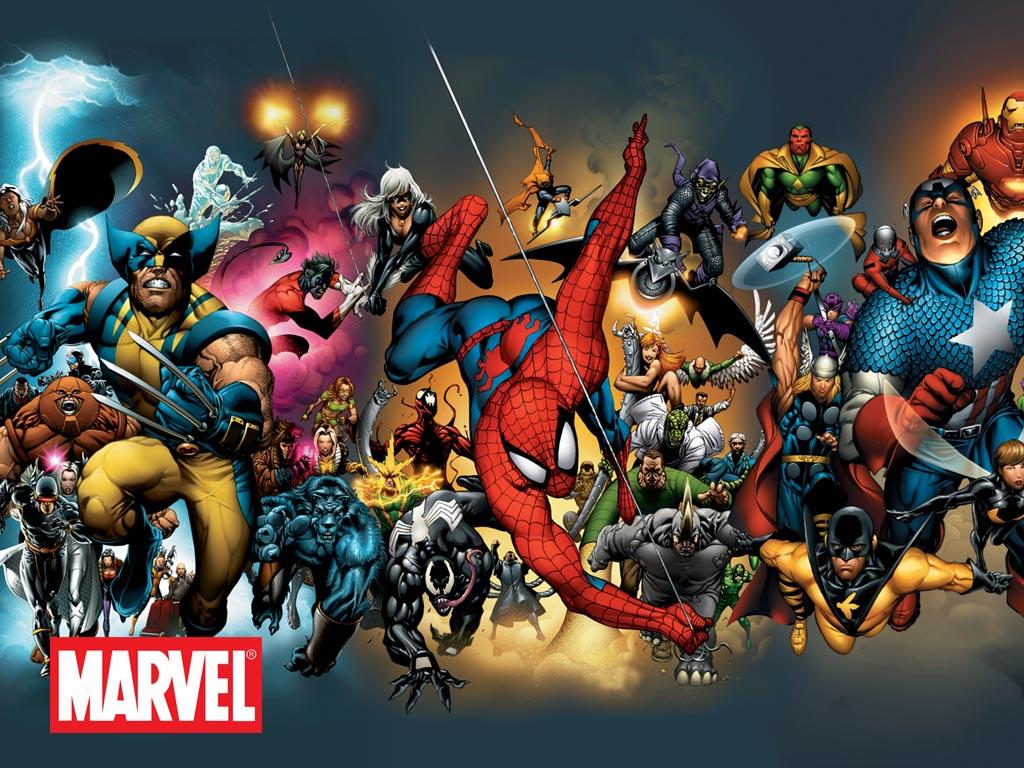 76 Marvel Comic Wallpaper On Wallpapersafari