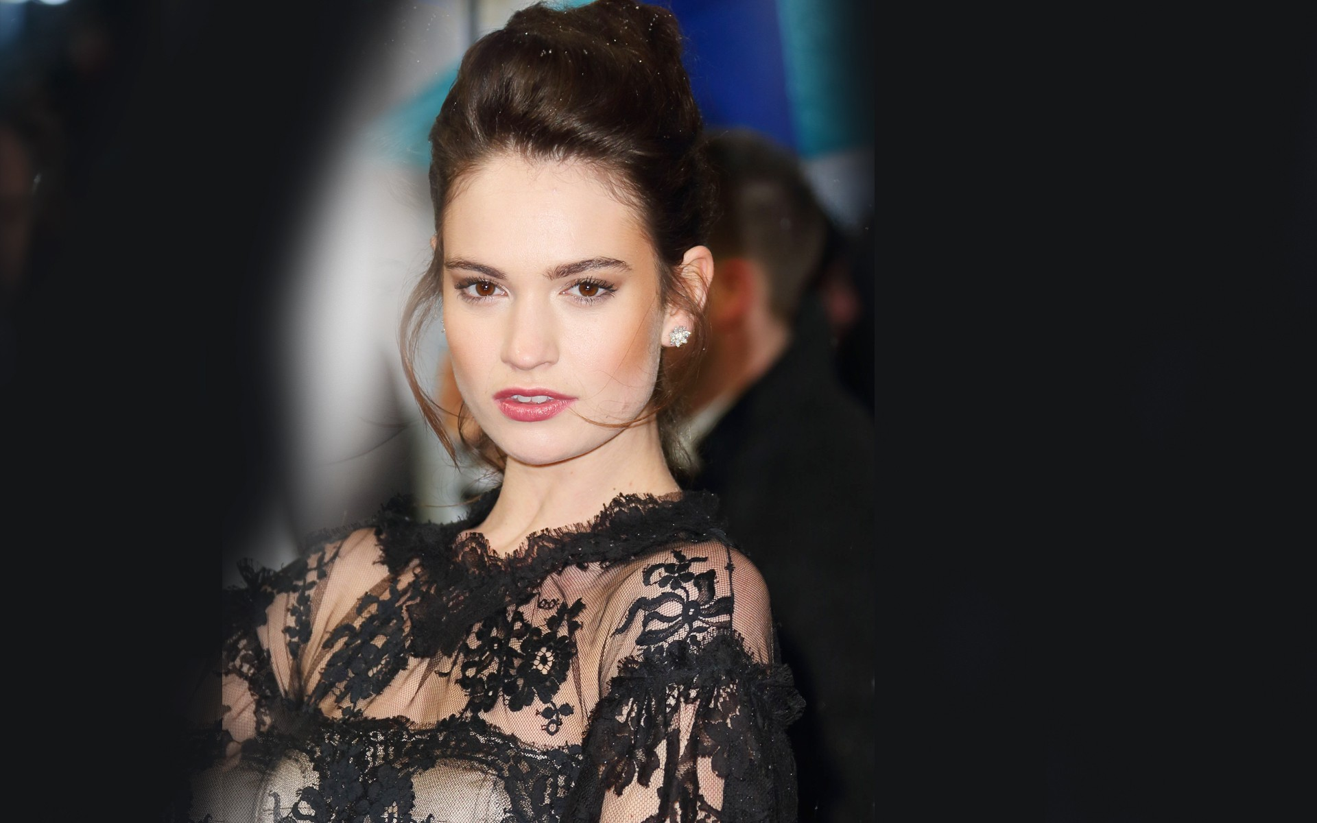 Lily James 2015 HD Wallpapers 1920x1200