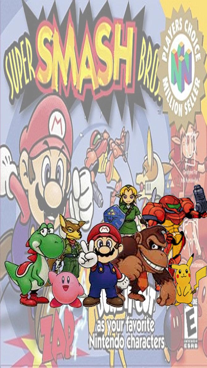 47 Super Smash Bros Phone Wallpaper On Wallpapersafari