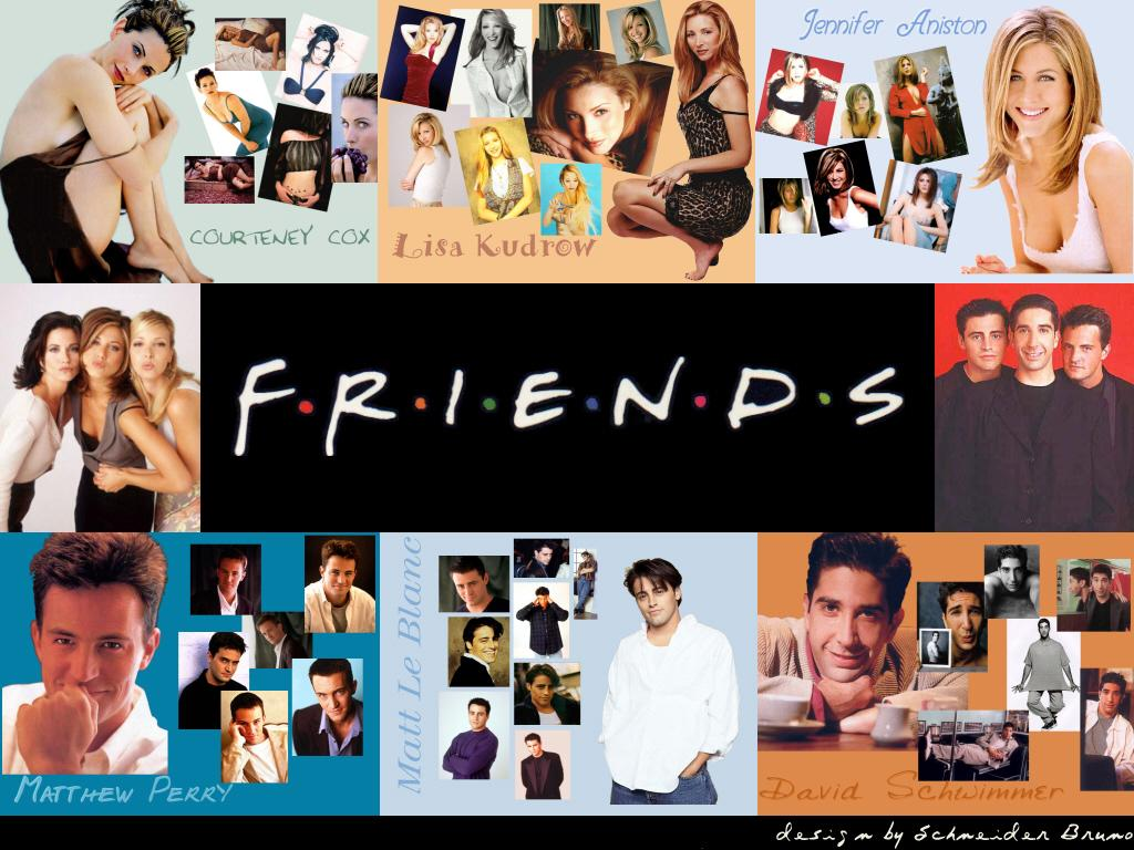 74 Friends Tv Show Wallpapers On Wallpapersafari