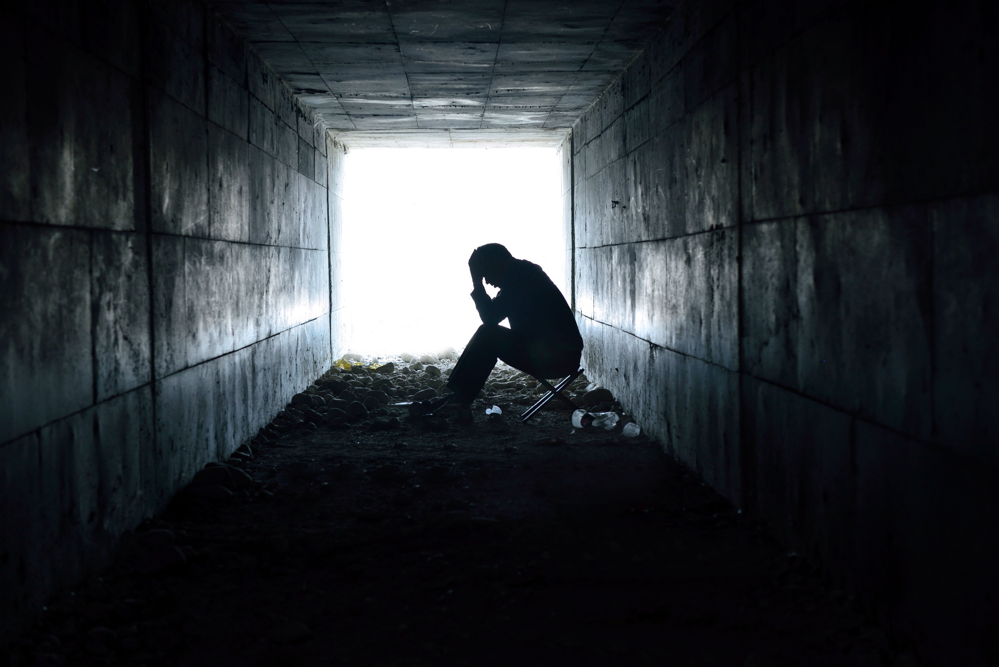 depression Sad Mood Sorrow Dark People Wallpapers HD 4000x2670