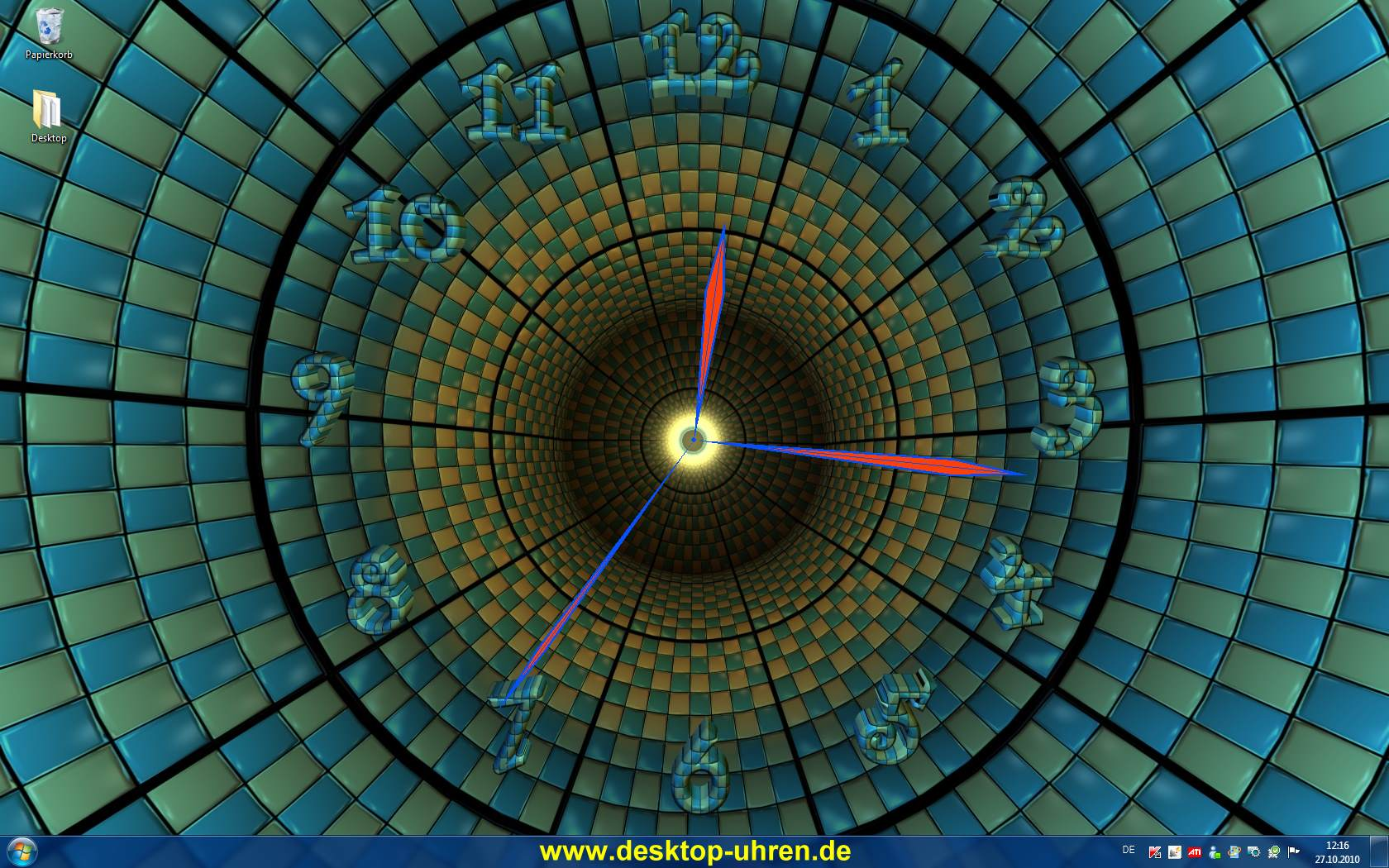 3d clock wallpaper free download for pc