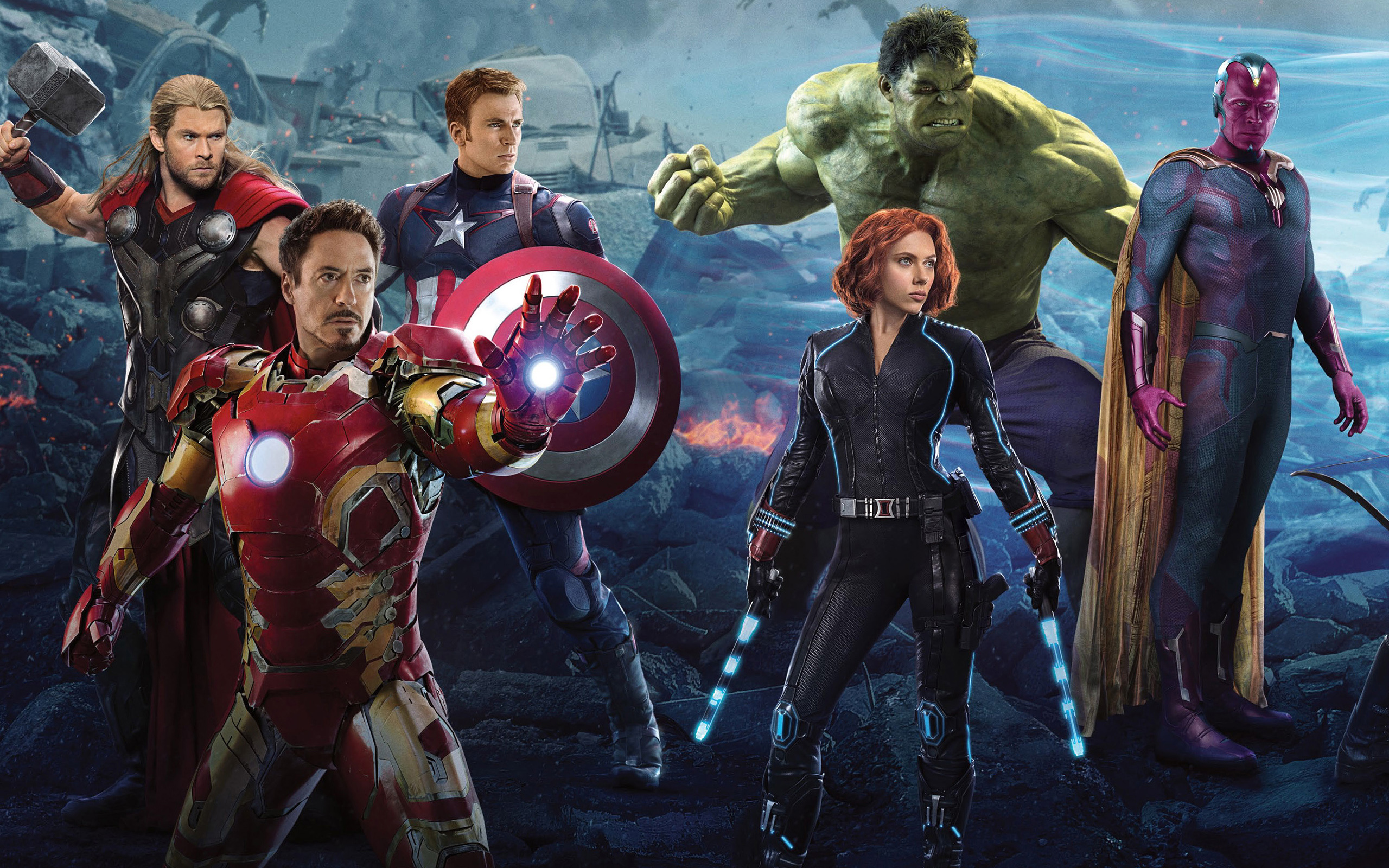 Avengers 2 Wallpapers HD Wallpapers 2560x1600