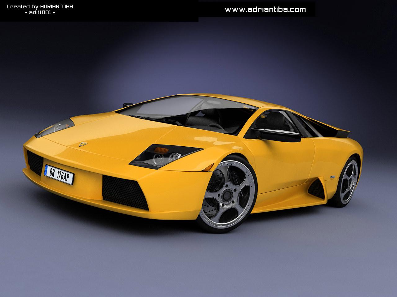 3d Wallpapers Lamborghini Wallpapers: 3D Car Wallpapers