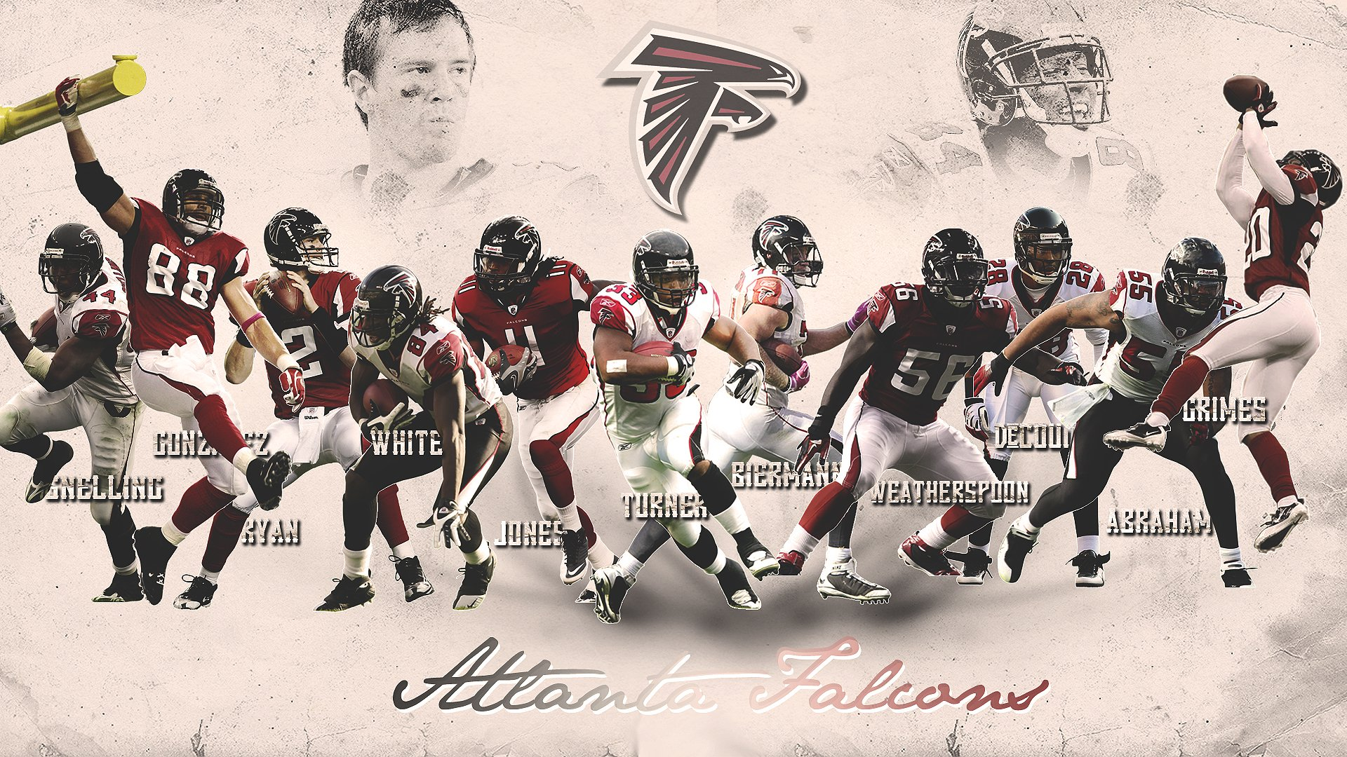 Falcons Iphone Wallpaper: Atlanta Falcons Wallpaper Border