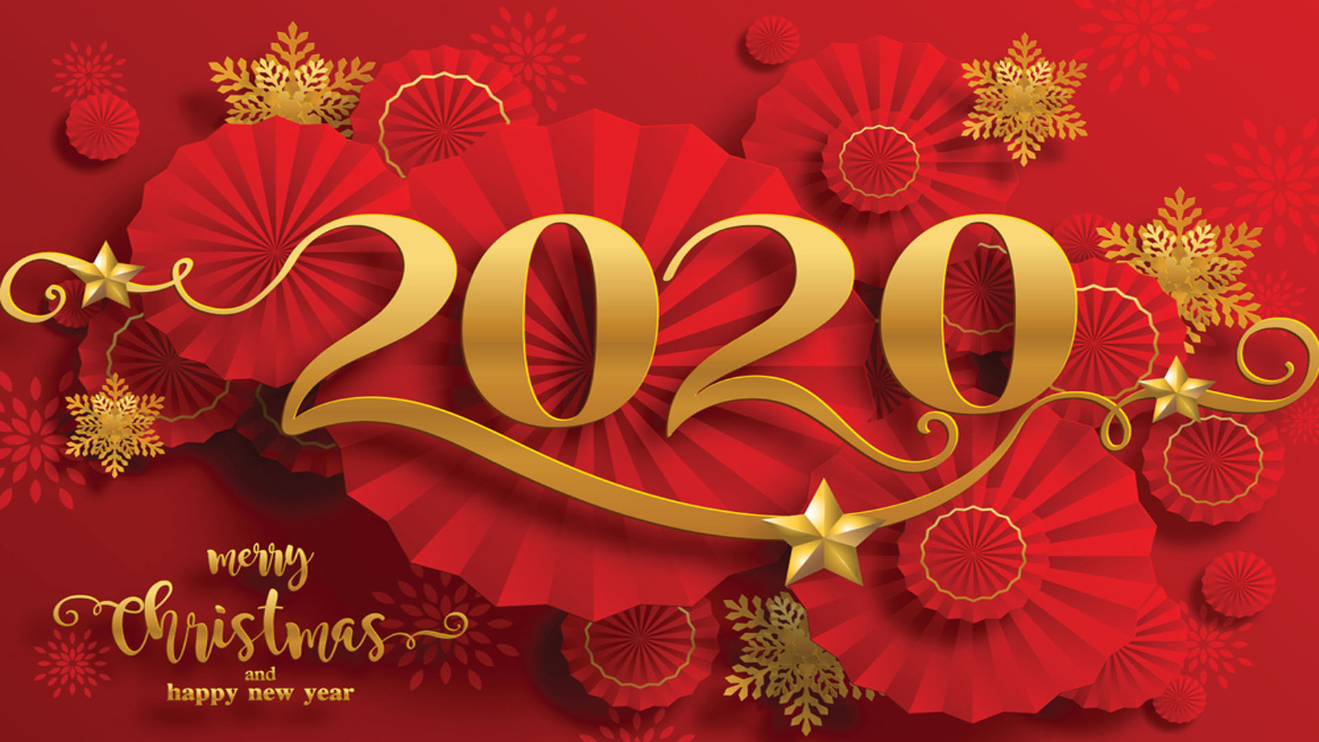 Chinese New Year 2020 Greeting Card For Mobile Phones Tablet And 1920x1080