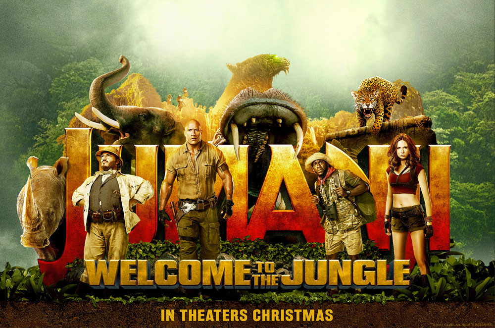 Jumanji images Jumanji Welcome to the Jungle 2017 Poster HD 1000x662