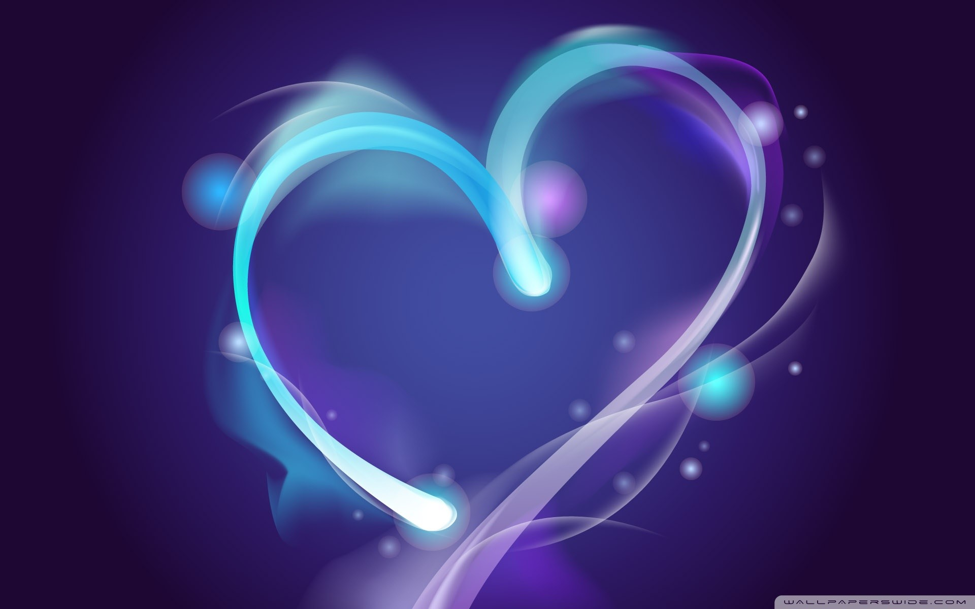 67 Blue Heart Wallpapers on WallpaperPlay 1920x1200