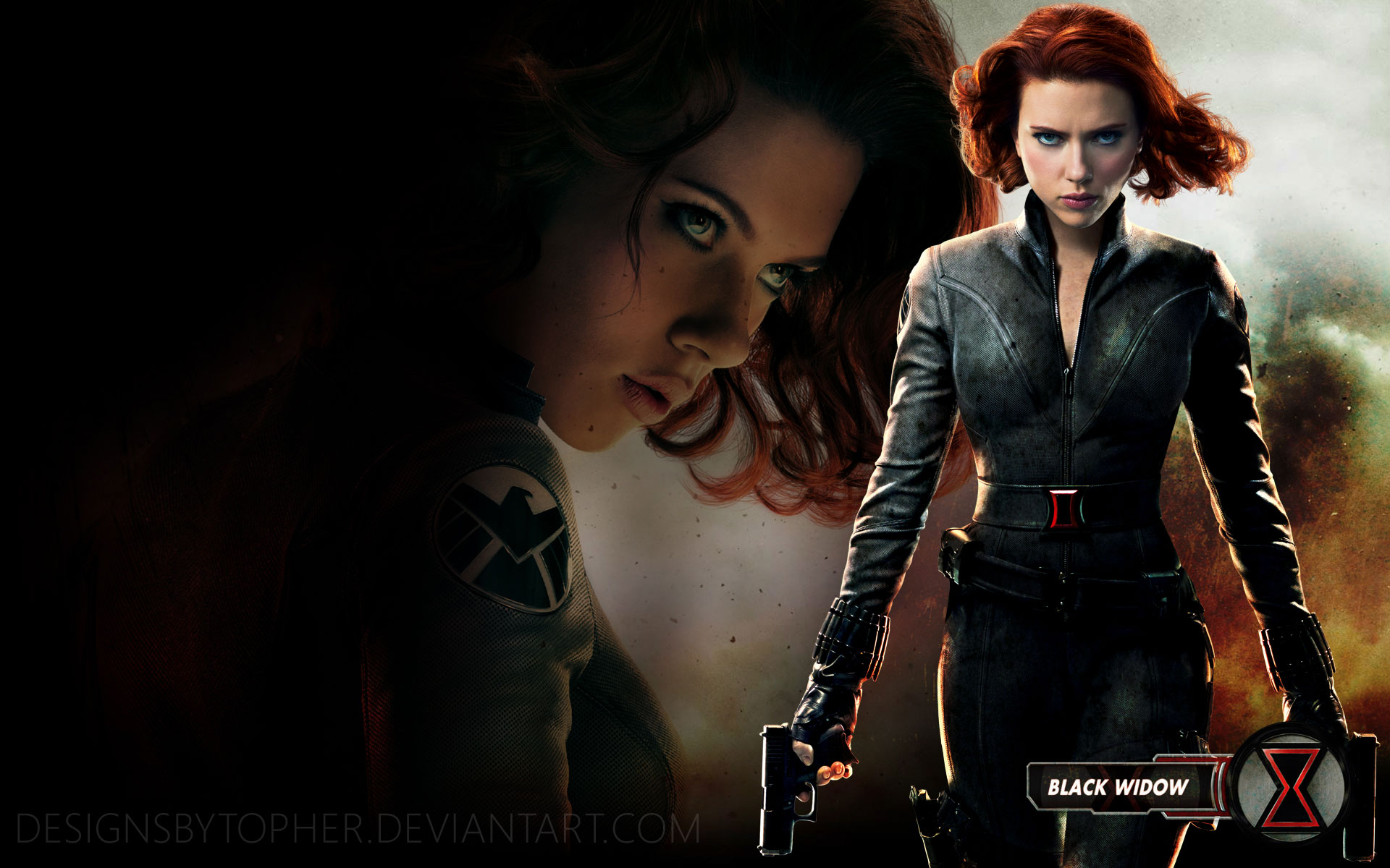 Wallpapers   Black Widow wallpaper 1920x1200