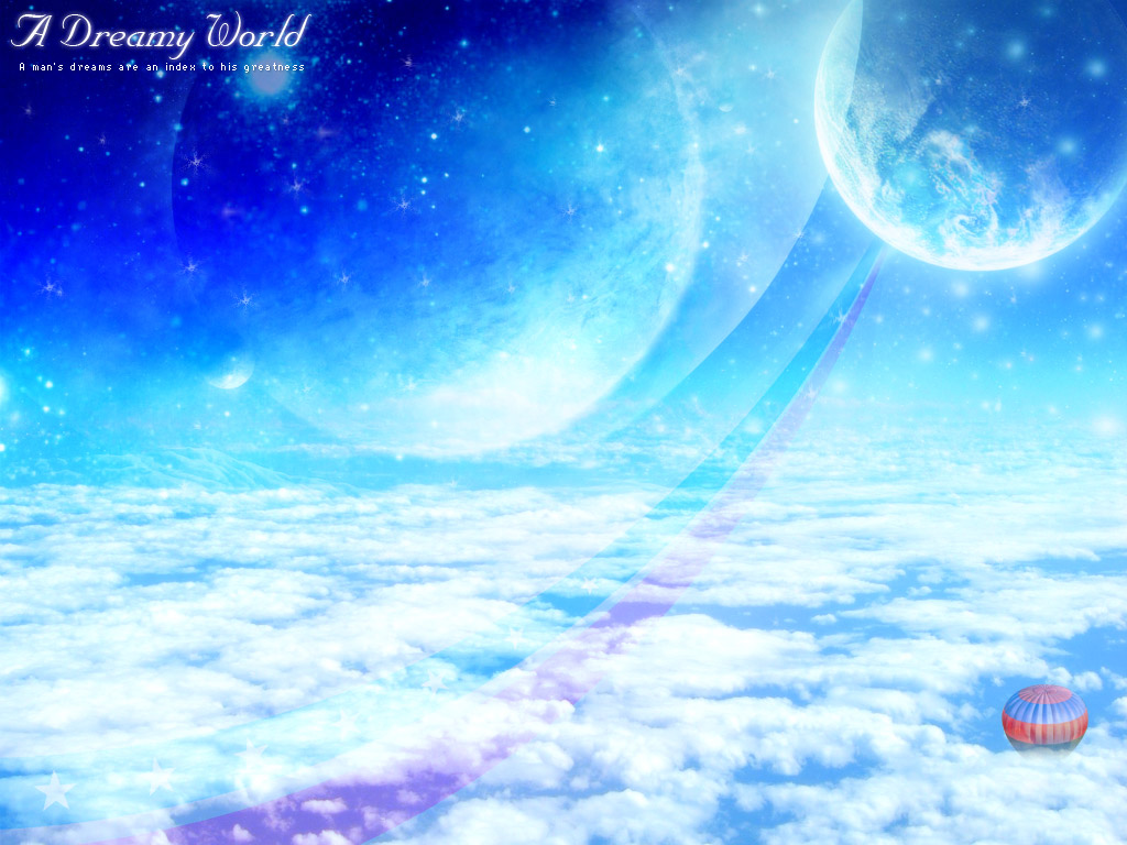 Dreamy World Desktop Wallpapers FREE on Latorocom 1024x768