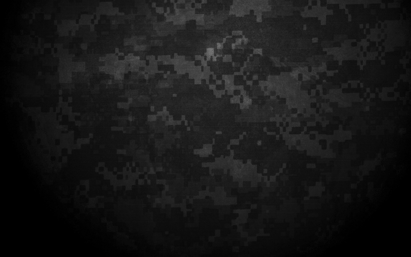 Black White Digital Camo Wallpaper 1440x900
