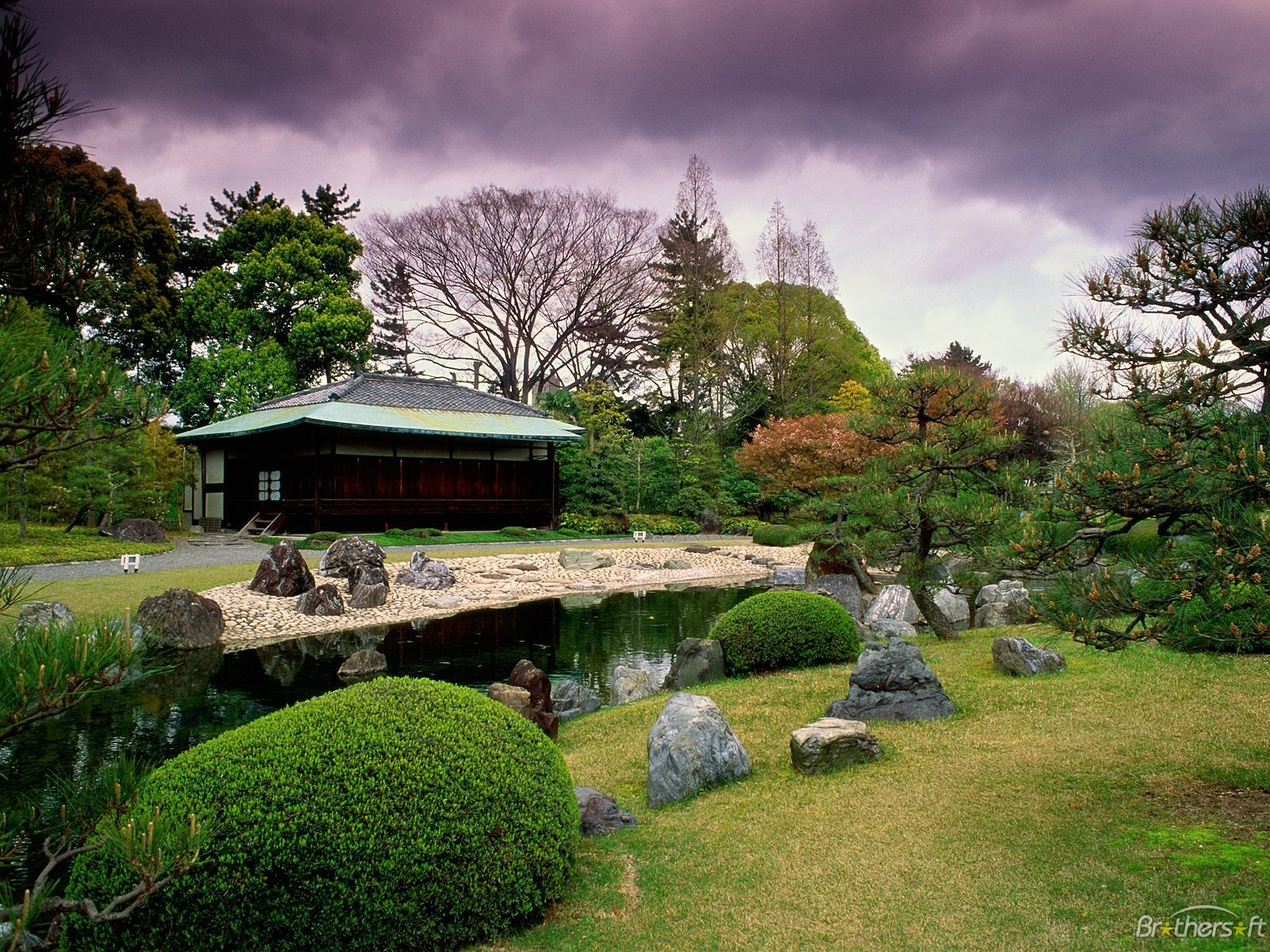 japanese scenery wallpaper 1600x1200
