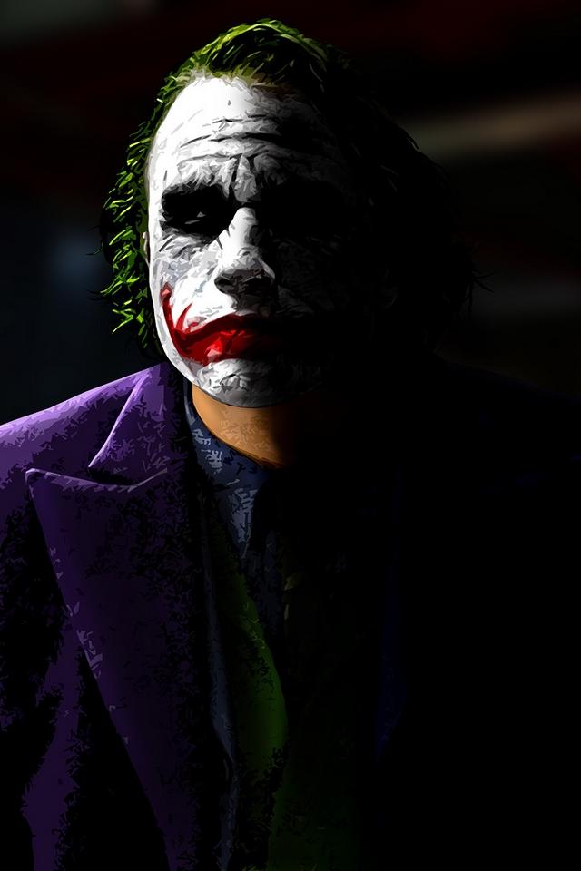 HD IPhone Joker Wallpaper