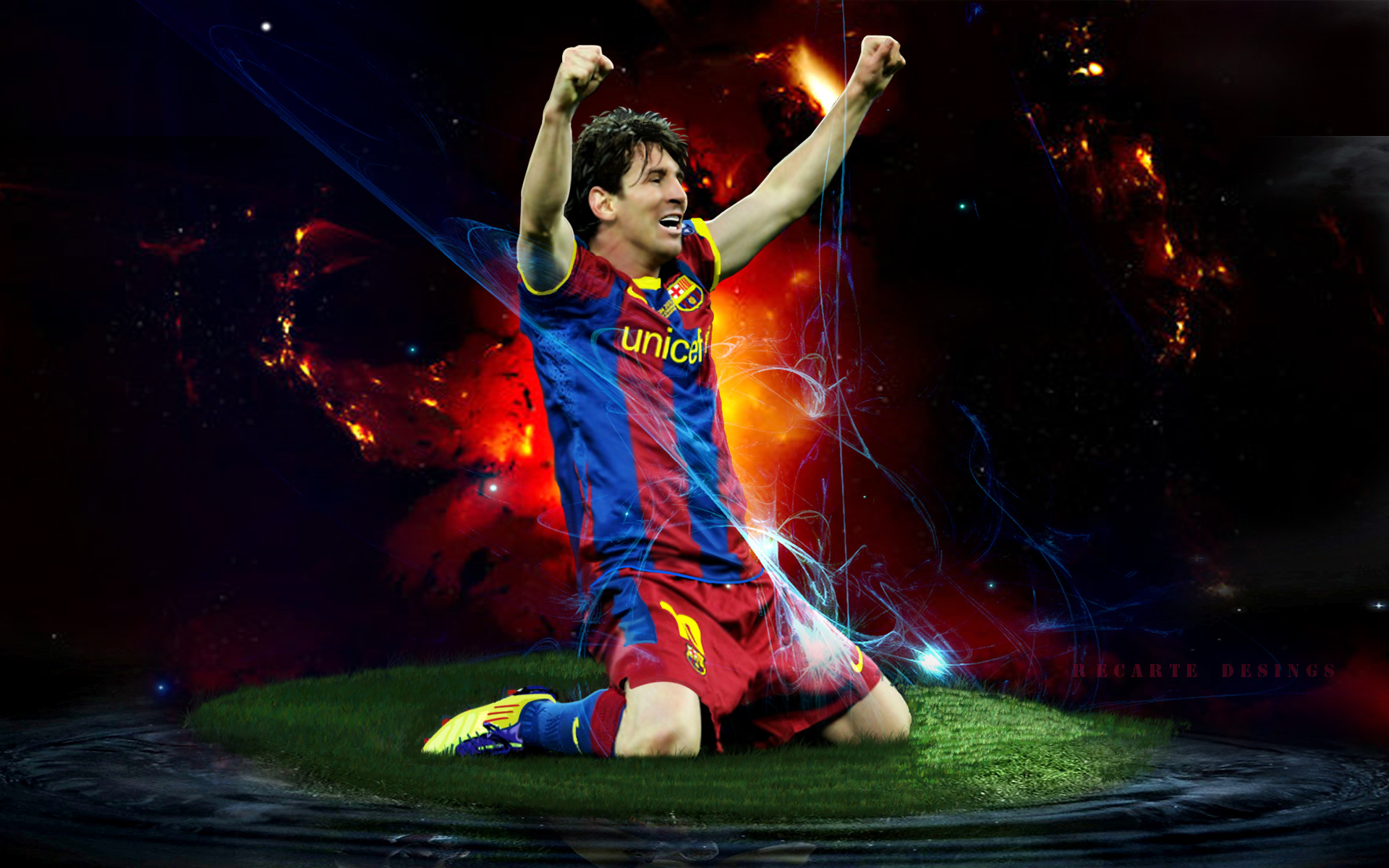 Download 40 Lionel Messi HD Wallpapers 1920x1200