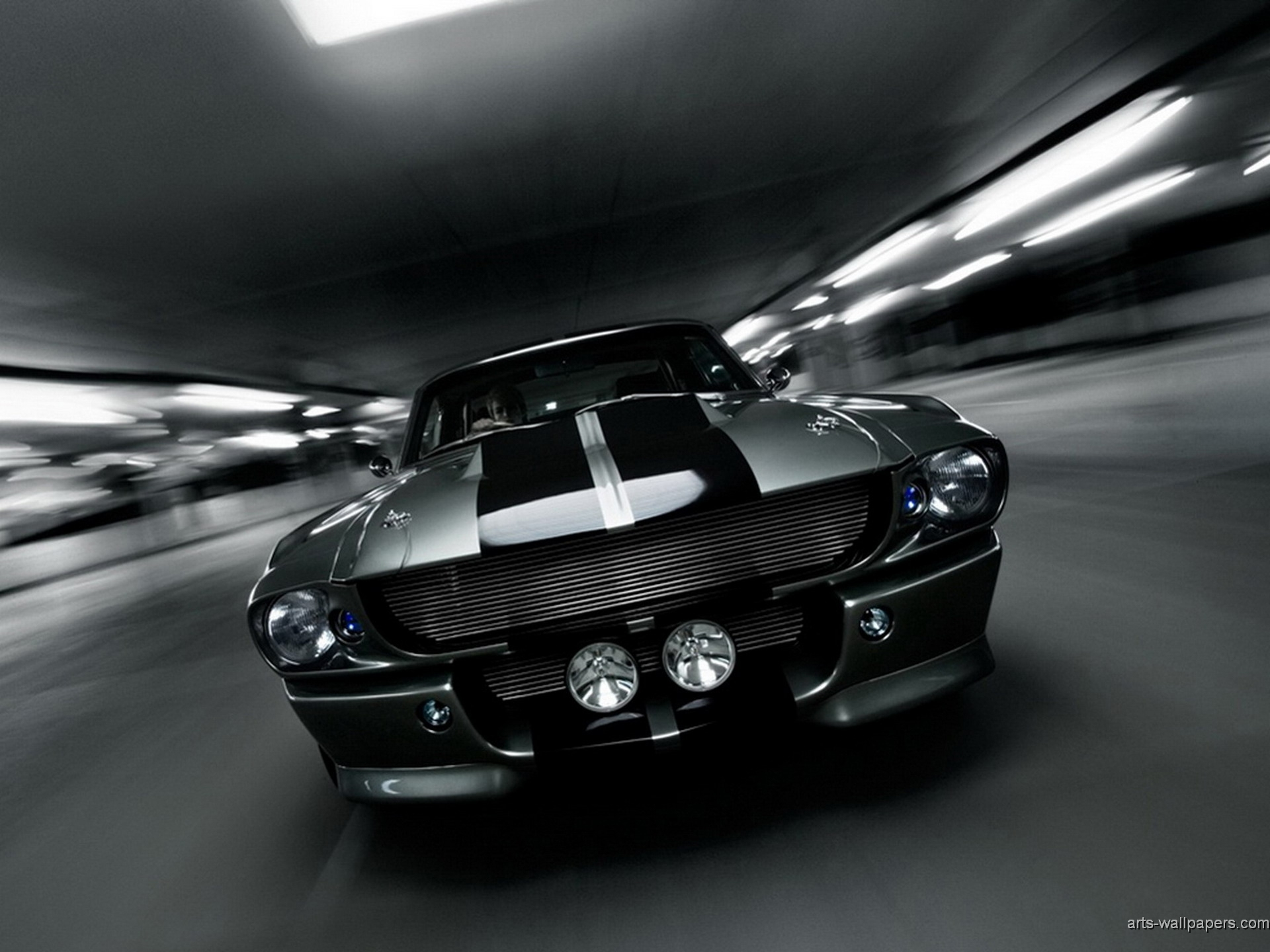 Shelby Mustang GT500 Wallpapers Art Print 1920x1440