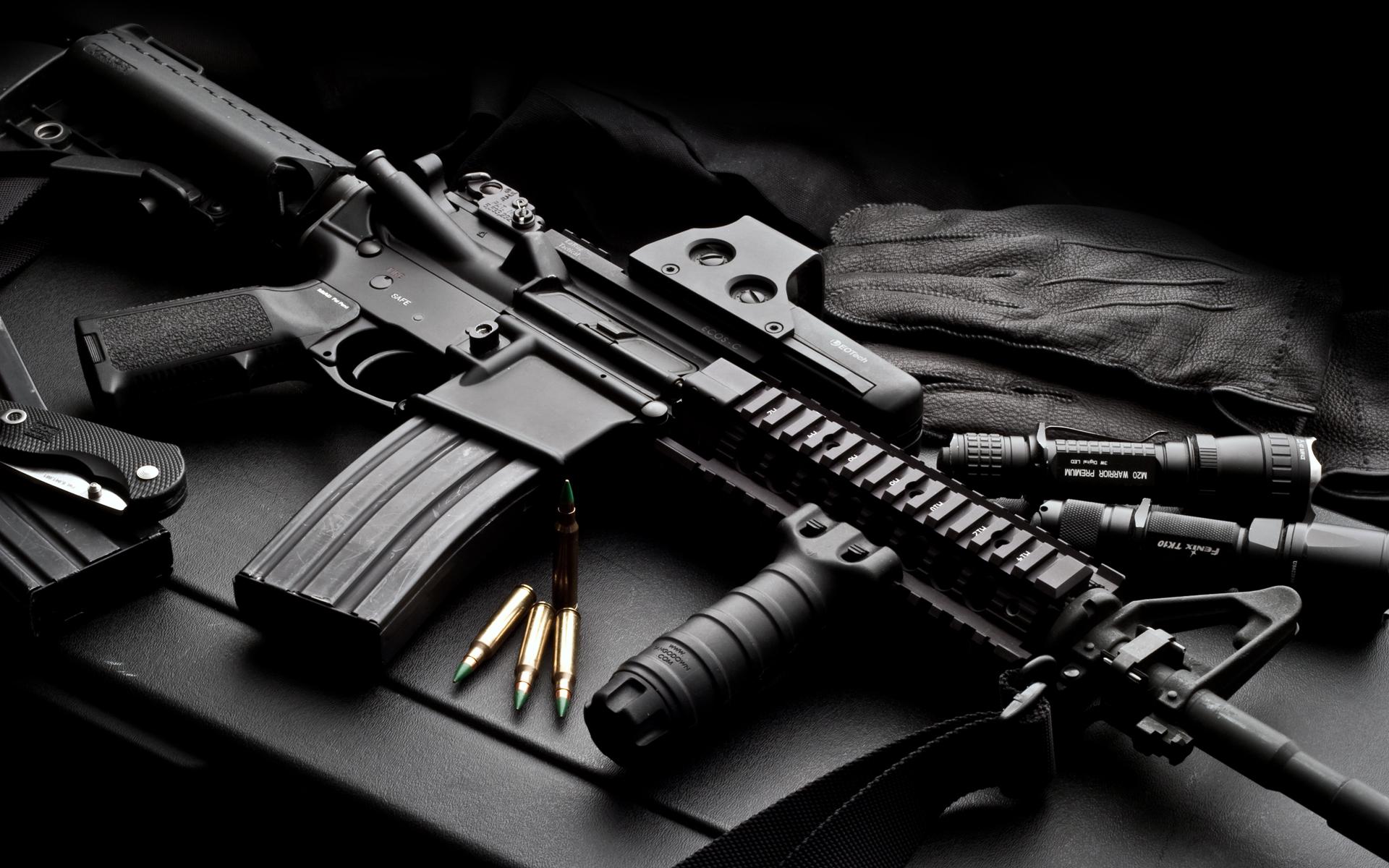 207 Assault Rifle HD Wallpapers Backgrounds 1920x1200