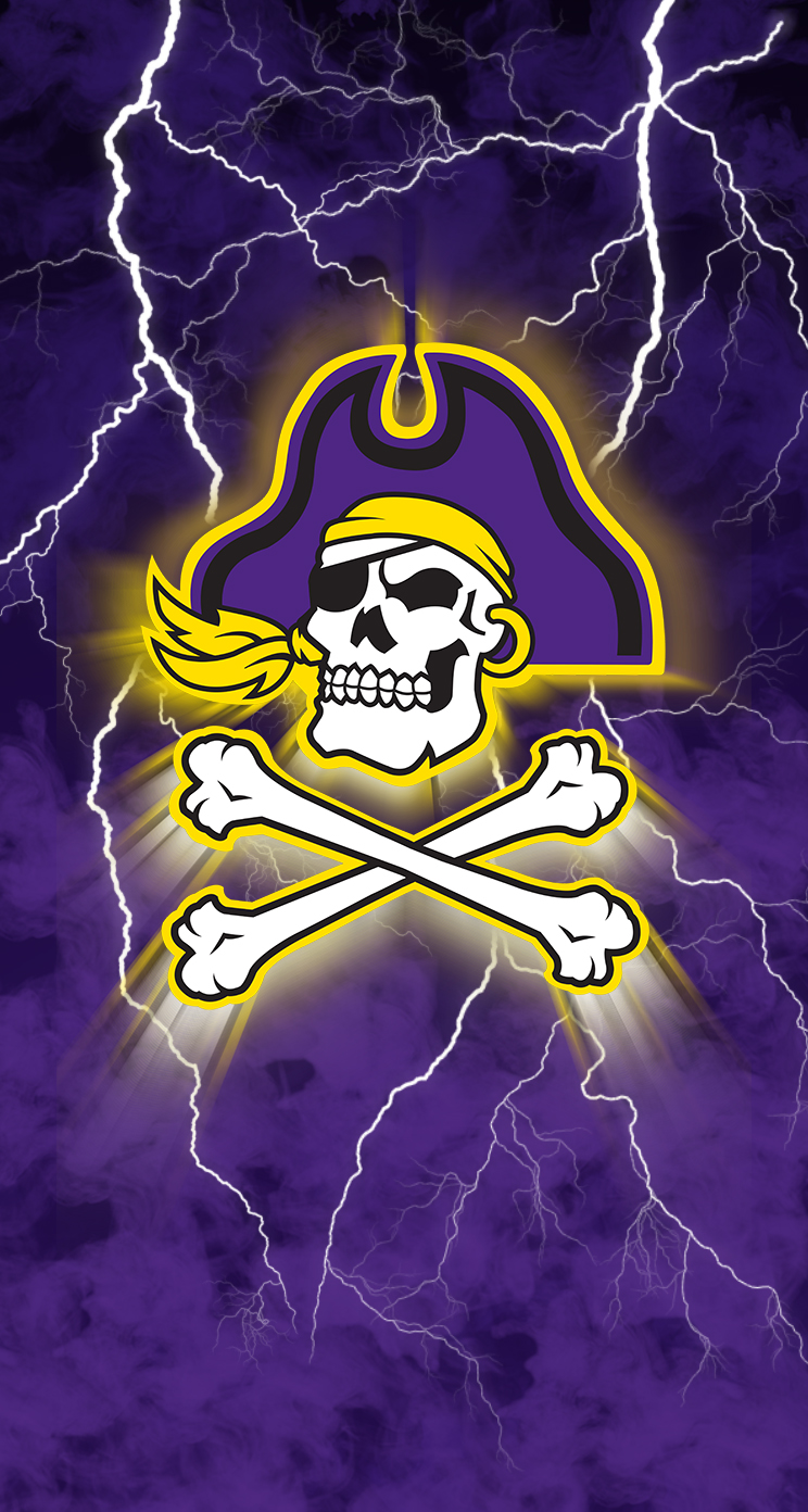 East Carolina Pirates iPhone 5 Parallax Wallpaper 744x1392 744x1392