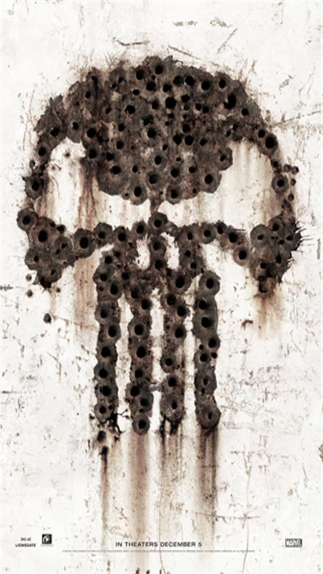 The Punisher 2 iPhone Wallpapers, iPhone 5(s)/4(s)/3G Wallpapers