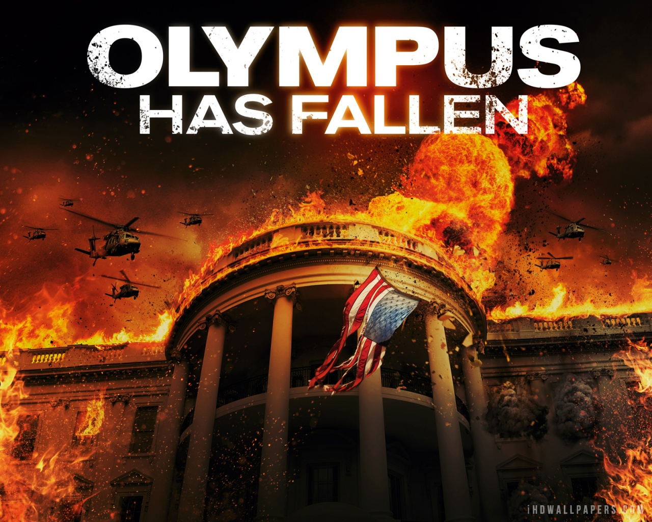 Olympus Has Fallen Wallpaper 1280x1024