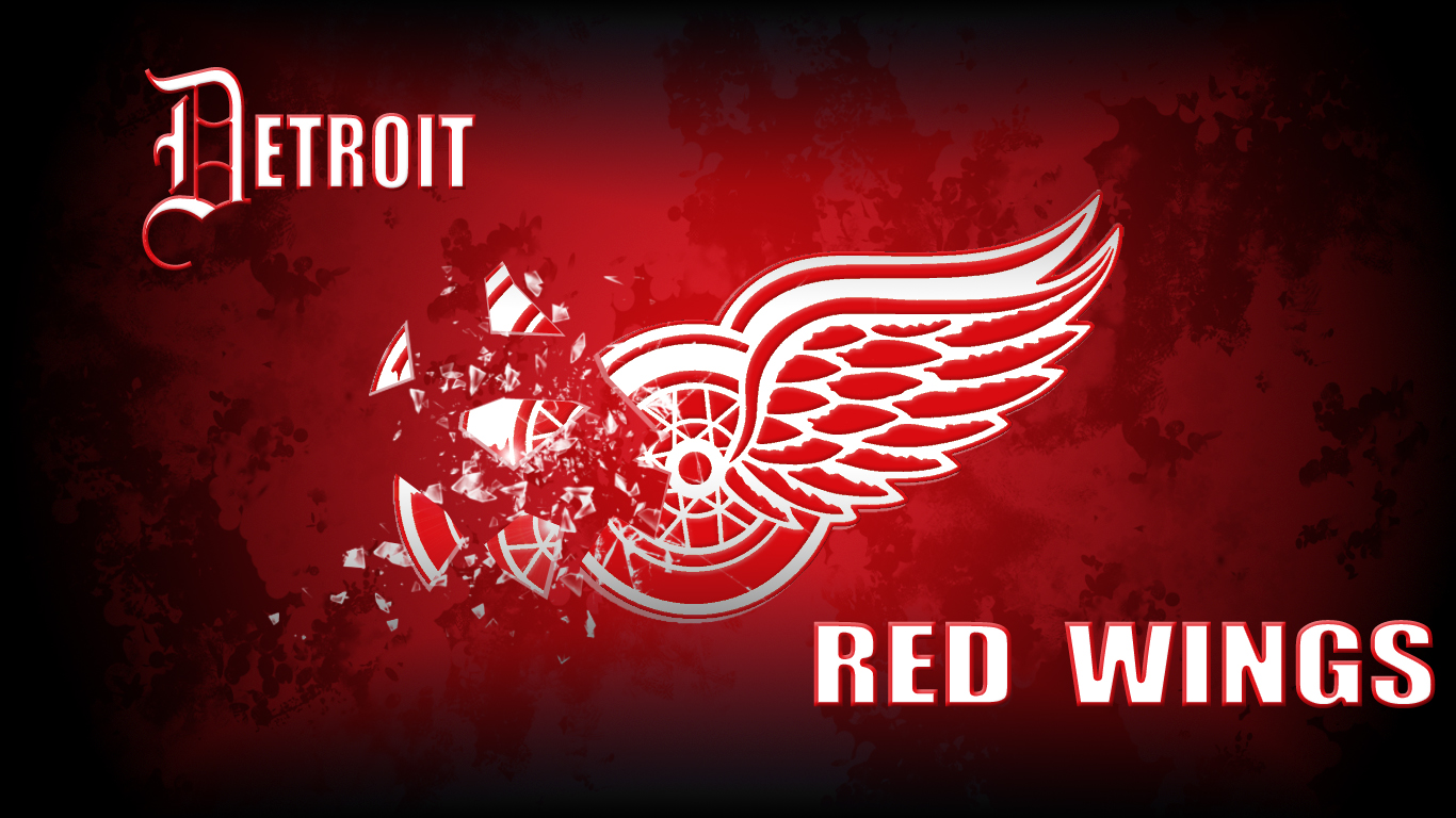 Detroit Red Wings desktop wallpapers Detroit Red Wings 1366x768